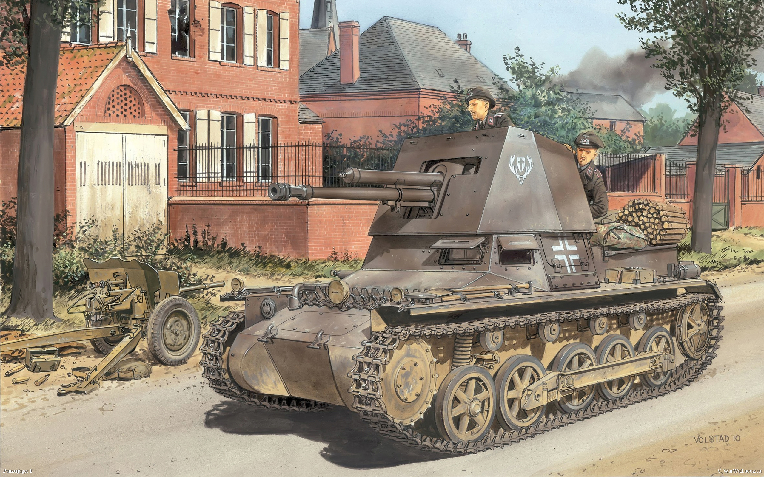 рисунок 6258 Panzerjager I