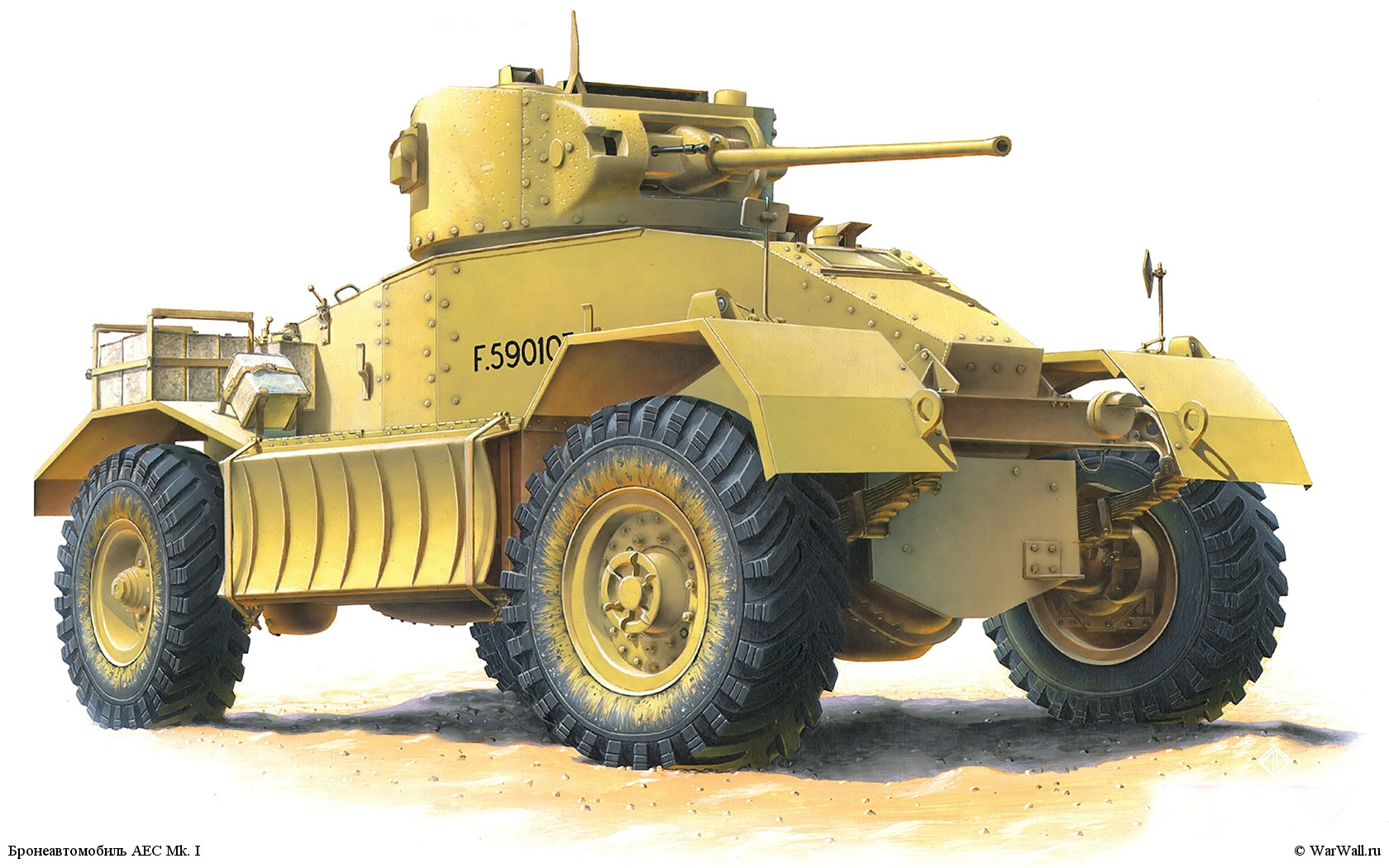 рисунок 35152 AEC Mk. I