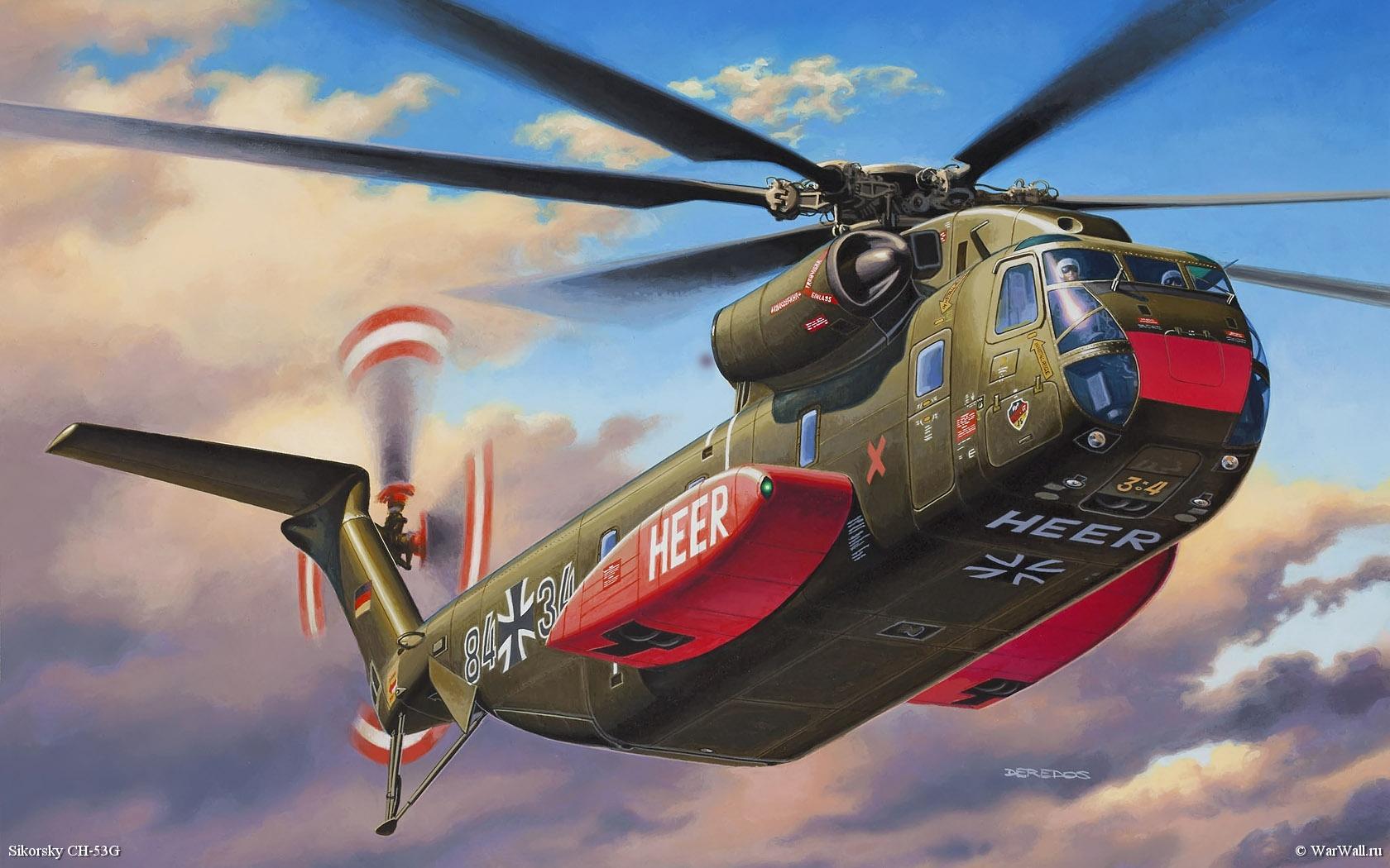 рисунок 04858 Sikorsky CH-53G