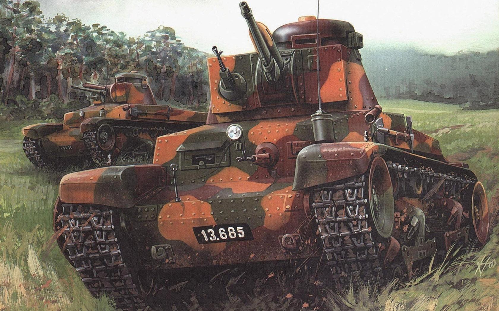 рисунок Skoda LT vz.35