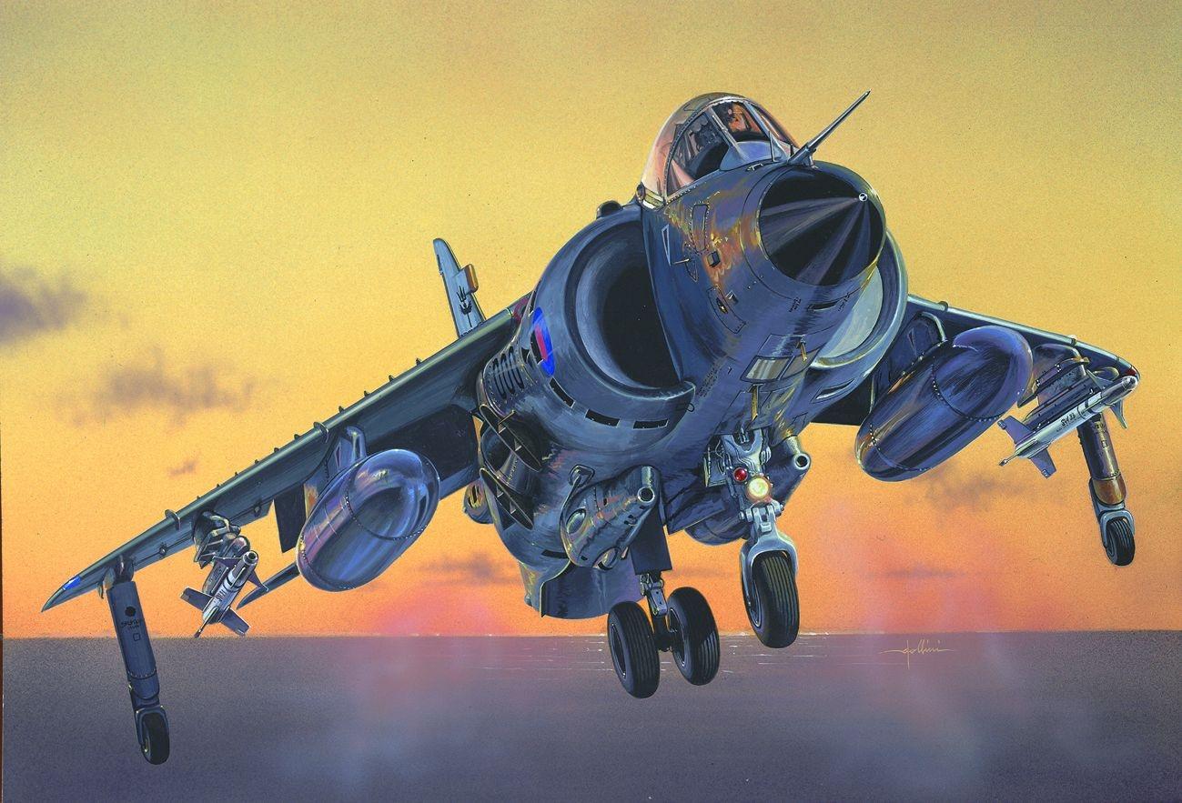 рисунок Sea Harrier FRS.01