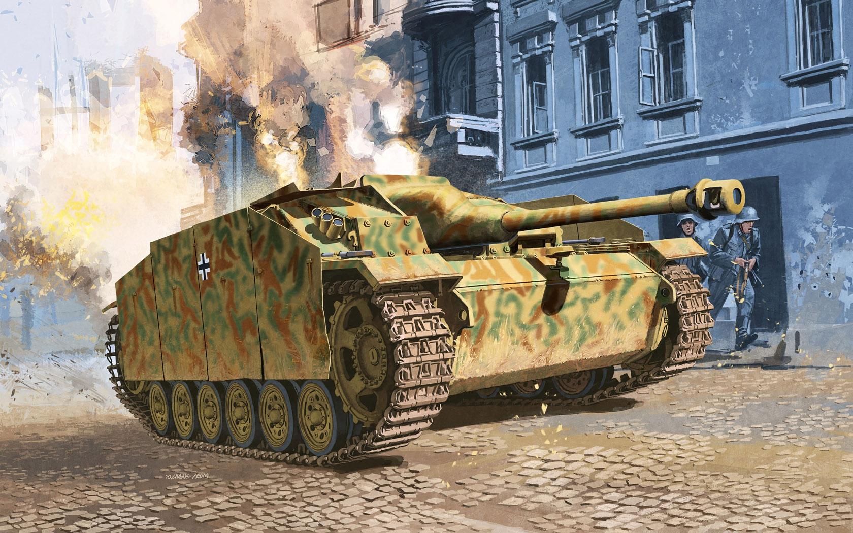 рисунок StuG.III Ausf.G