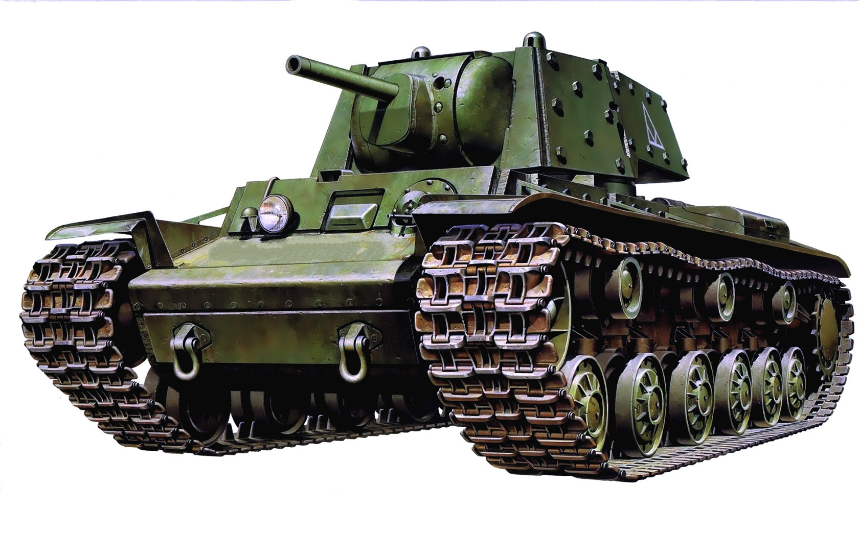 рисунок КВ-1 (экранированный)