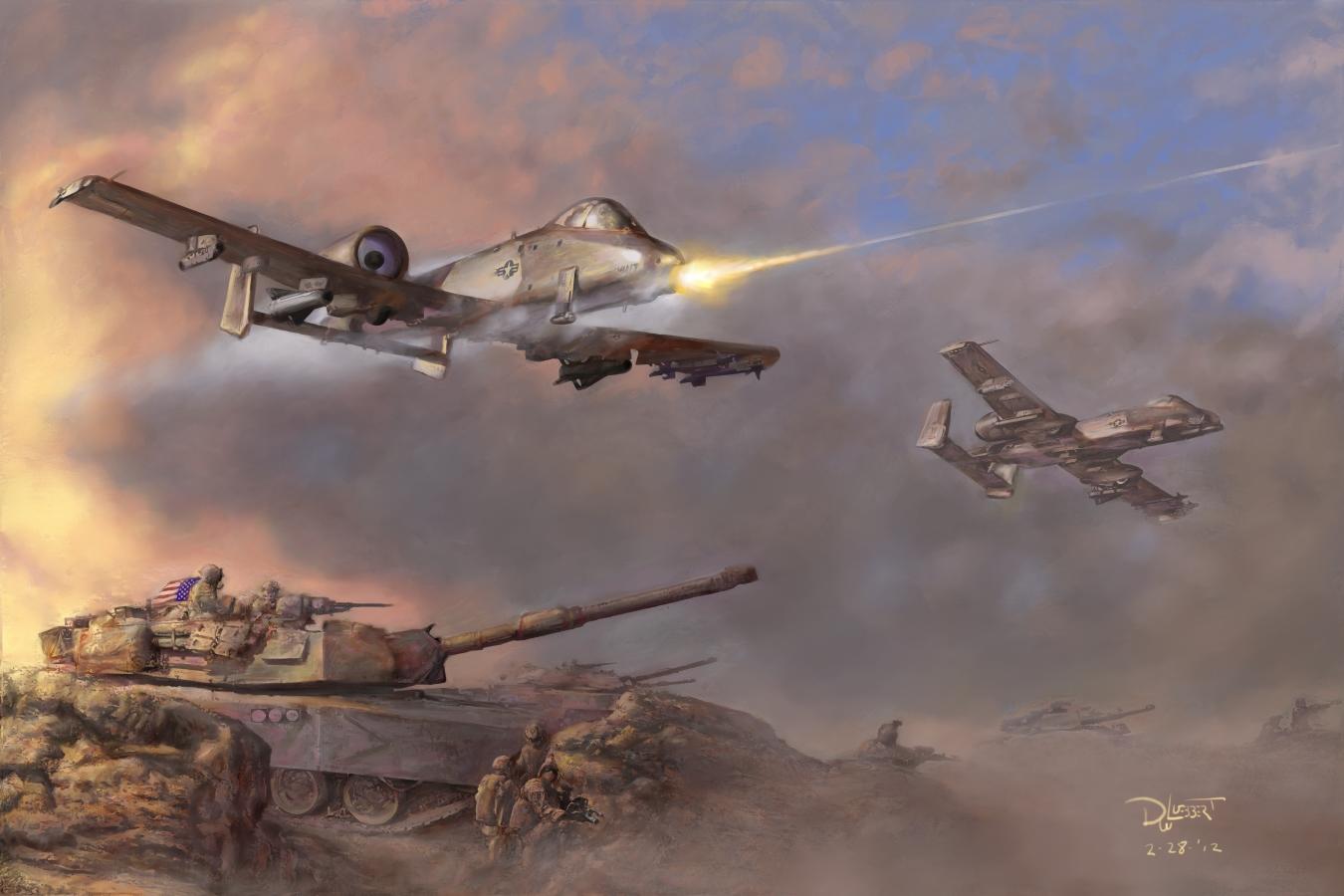 Рисунок армия сша