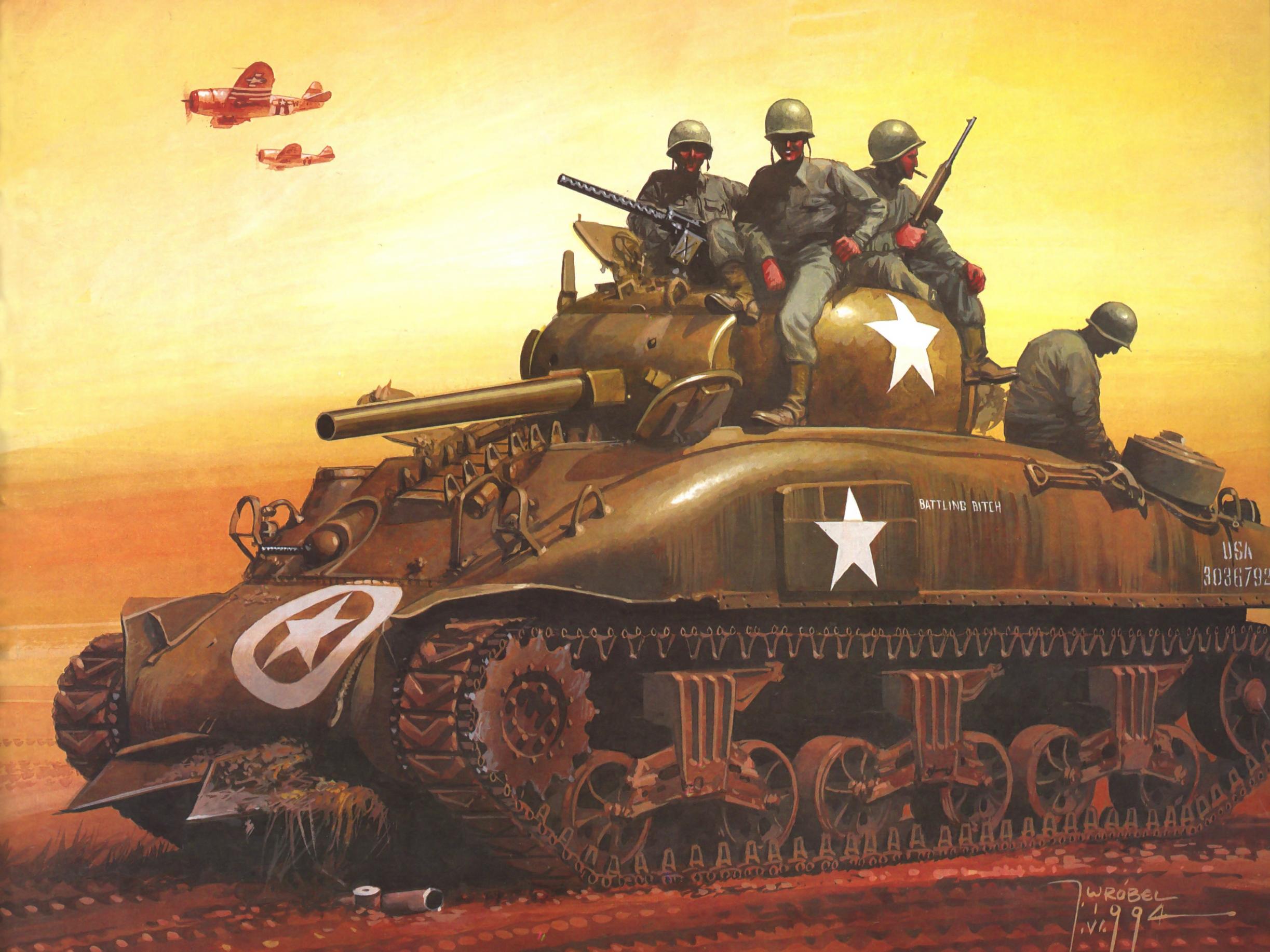 рисунок M4A1 Battling Bitch