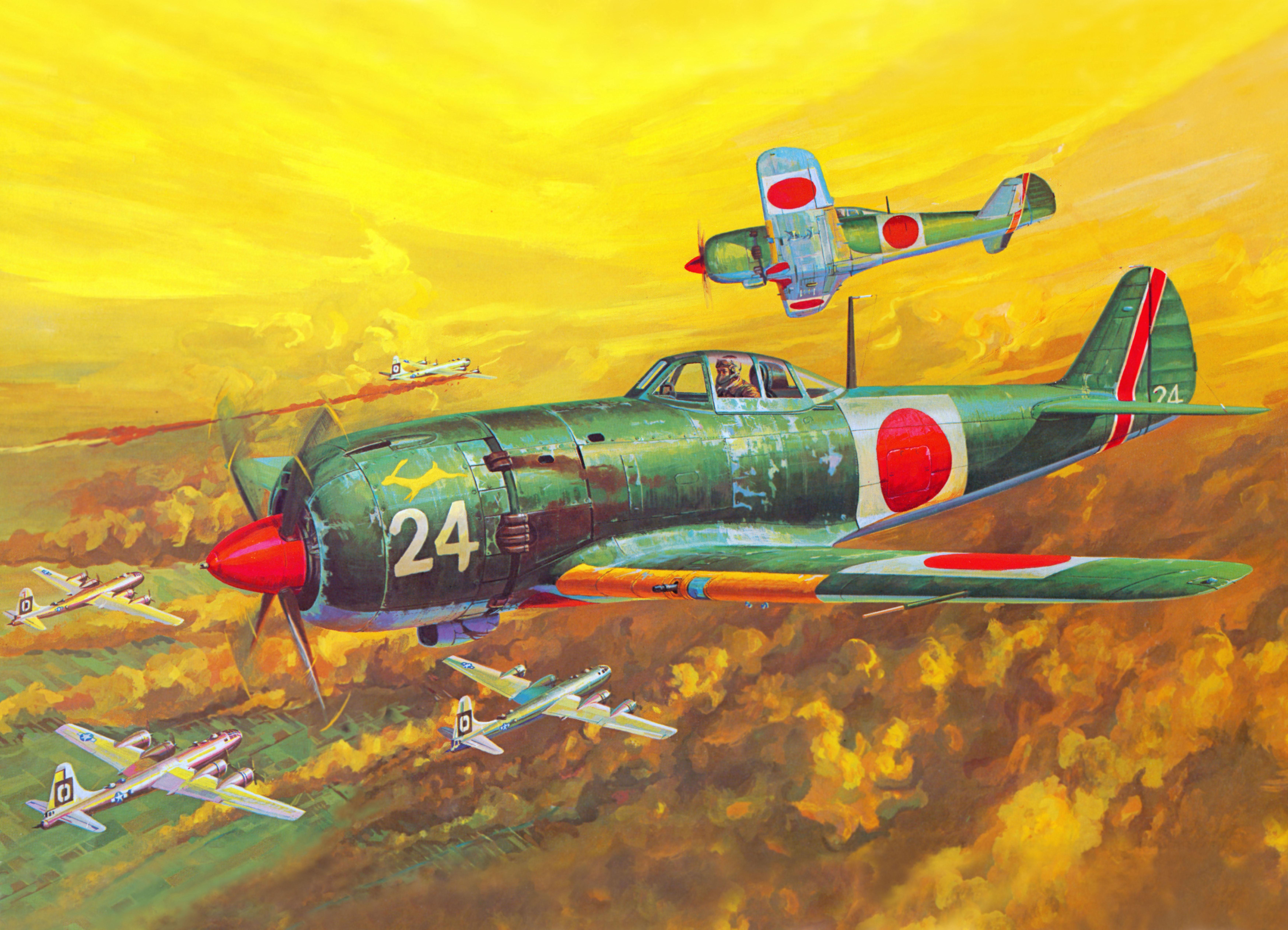 рисунок 61013 Nakajima Ki-84-Ia