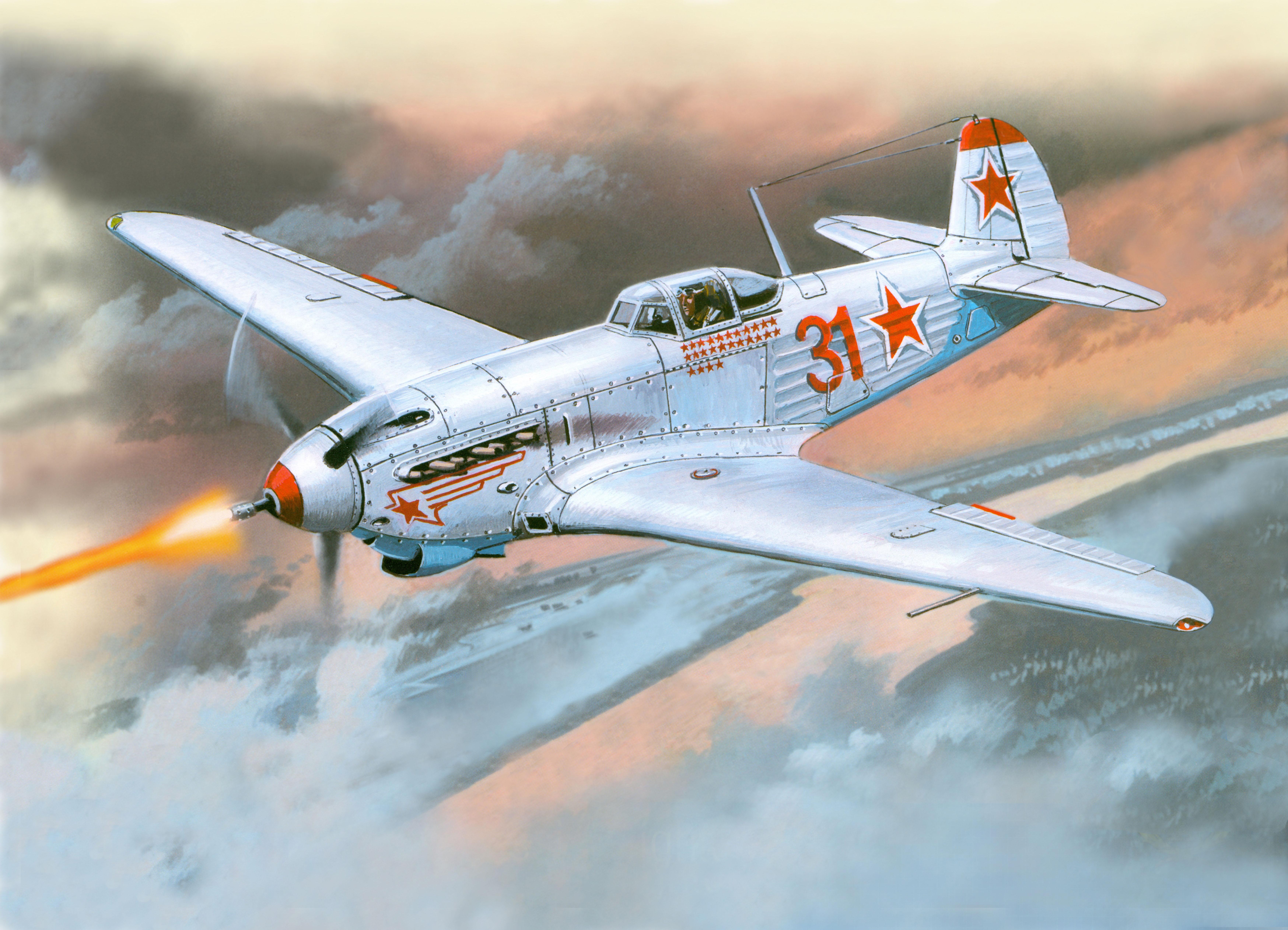 рисунок 48021 Истребитель Як-9К