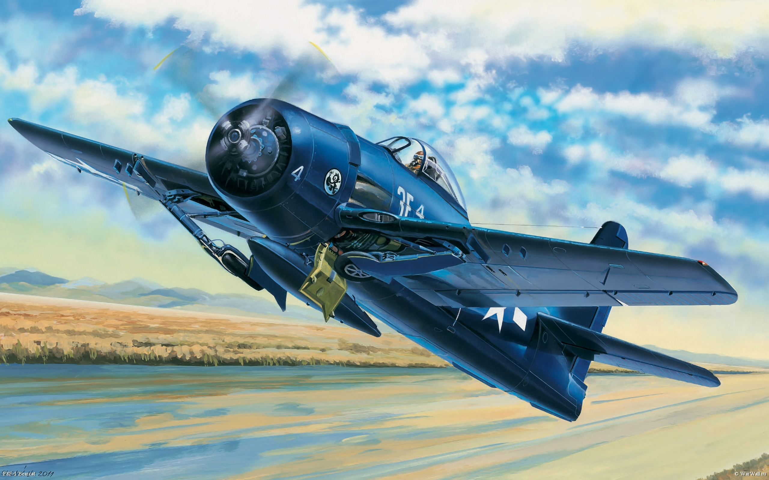 рисунок 80356 F8F-1 Bearcat