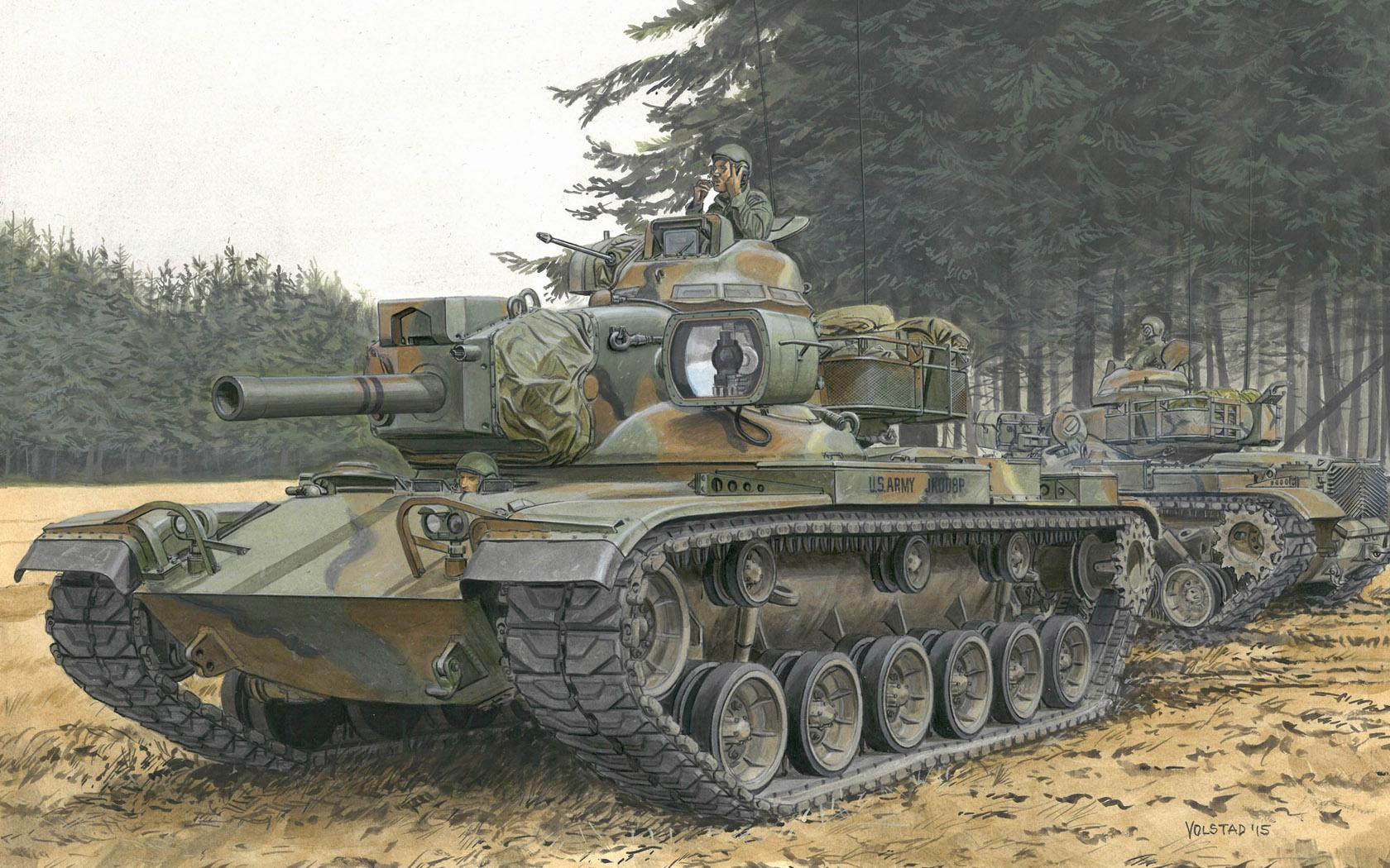 "рисунок M60A2 ""Starship"""