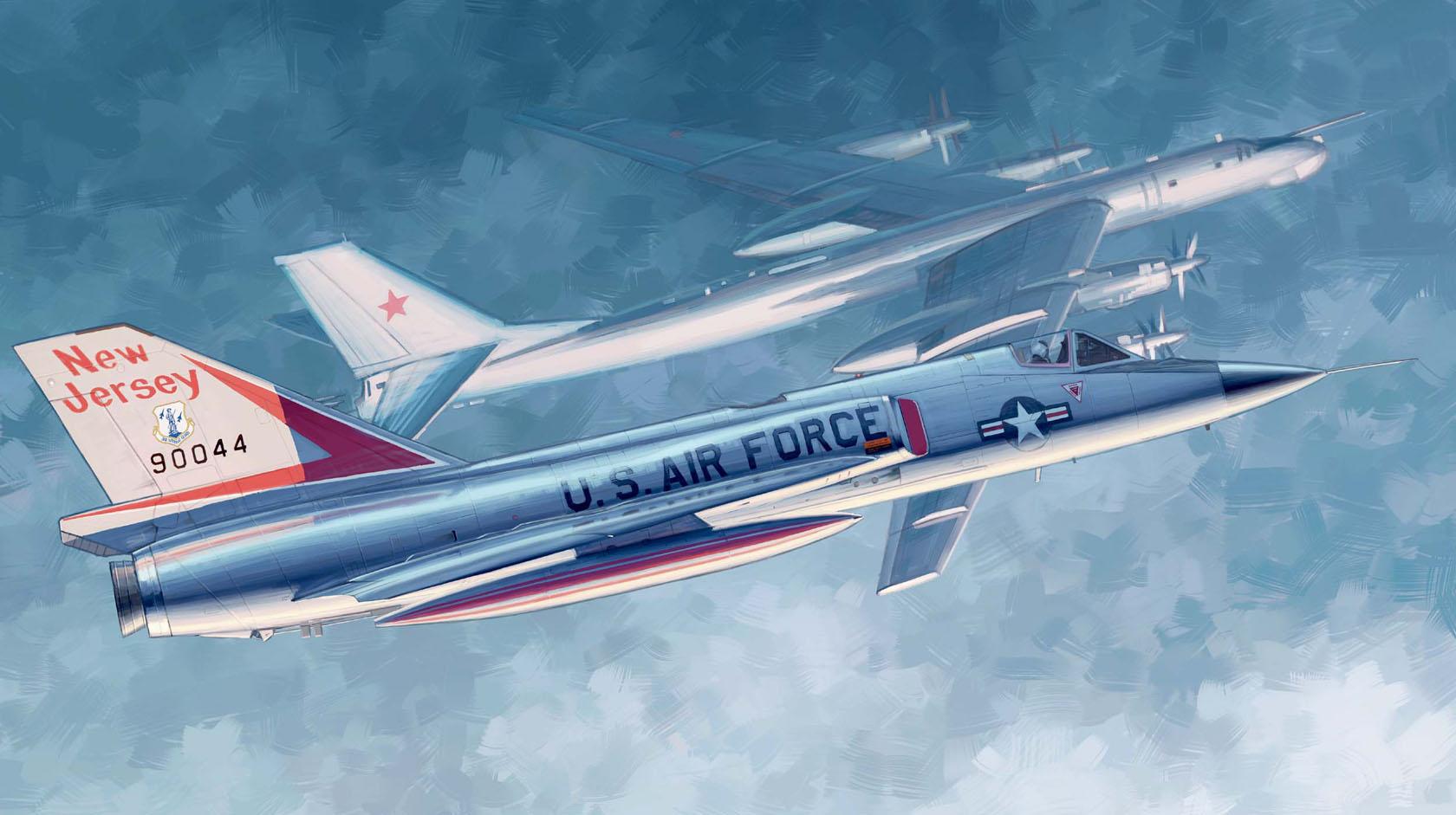 рисунок F-106A Delta Dart