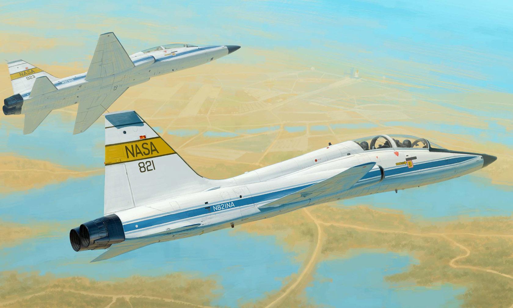 рисунок T-38C Talon NASA