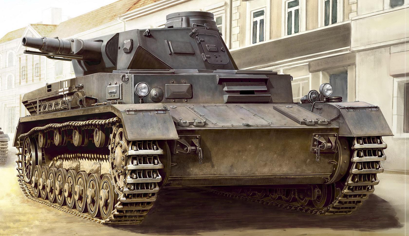 рисунок Panzer IV Ausf. C