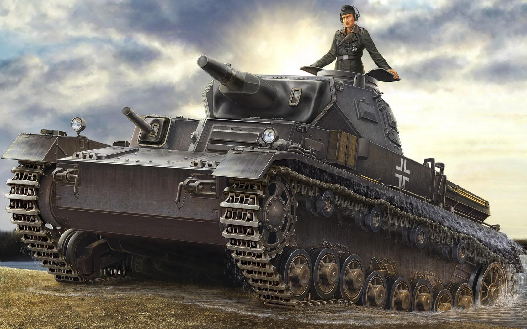 рисунок Panzer IV Ausf. D