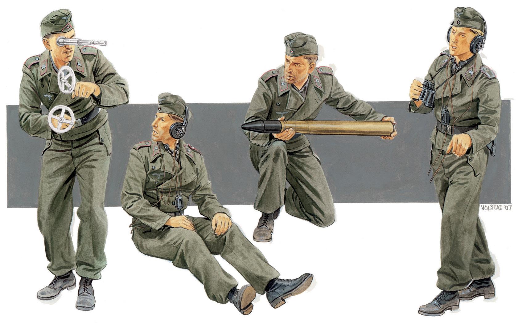 рисунок German SP Gun Crew