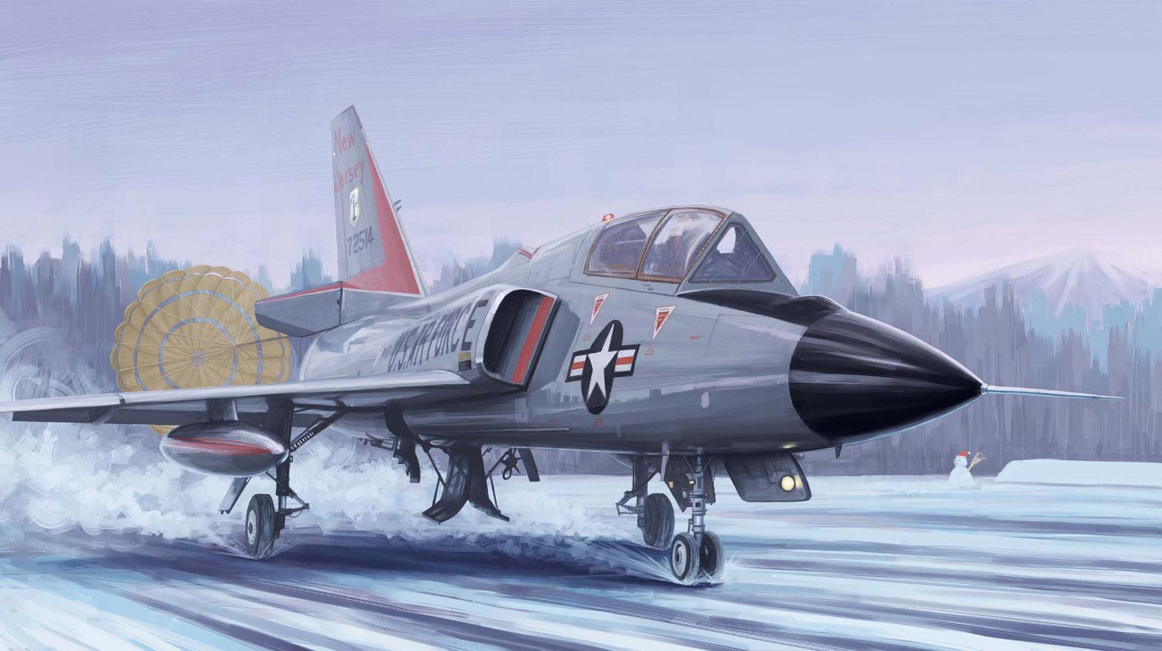 рисунок F-106B Delta Dart