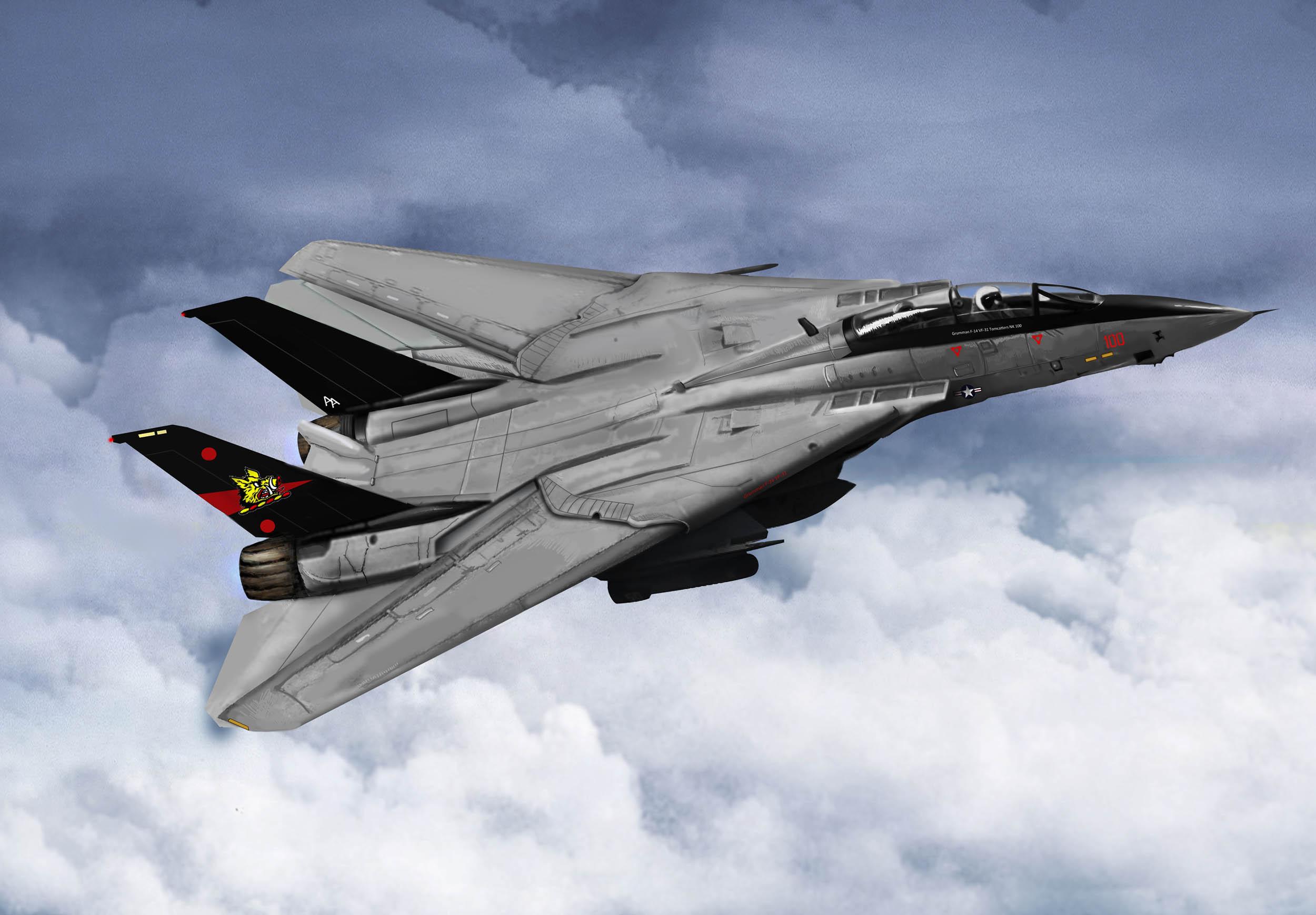 рисунок F-14B