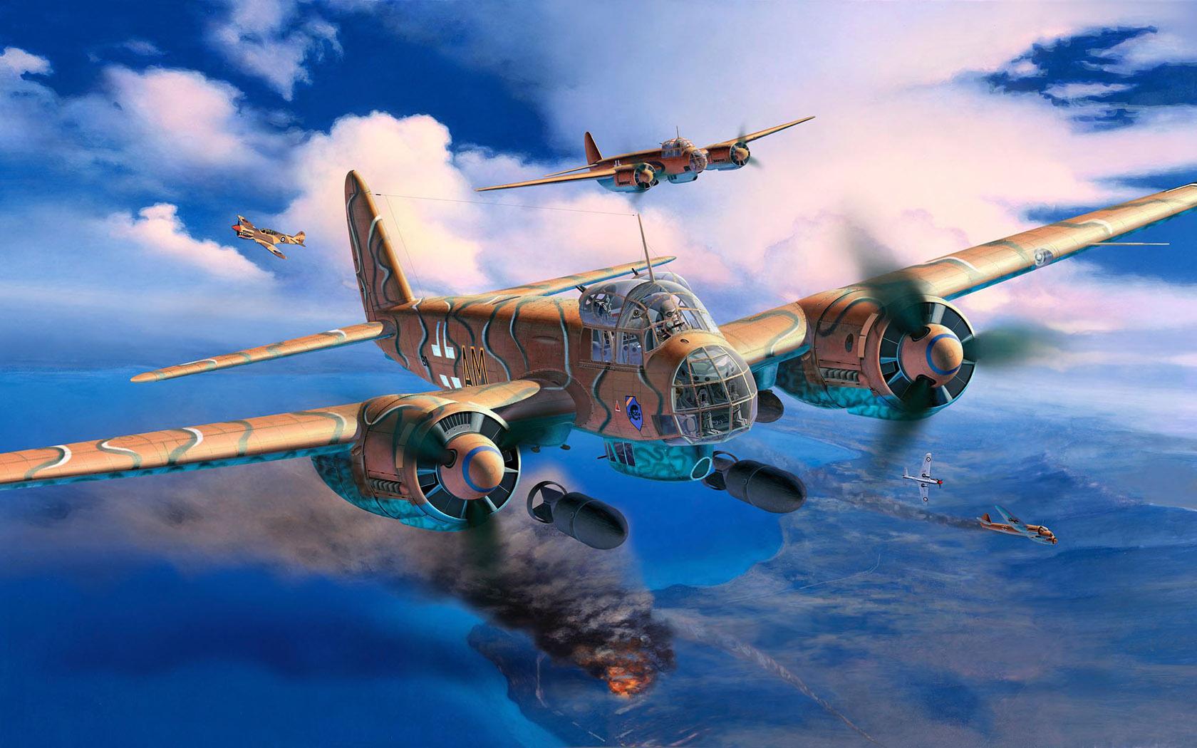 рисунок Ju-88 A-4