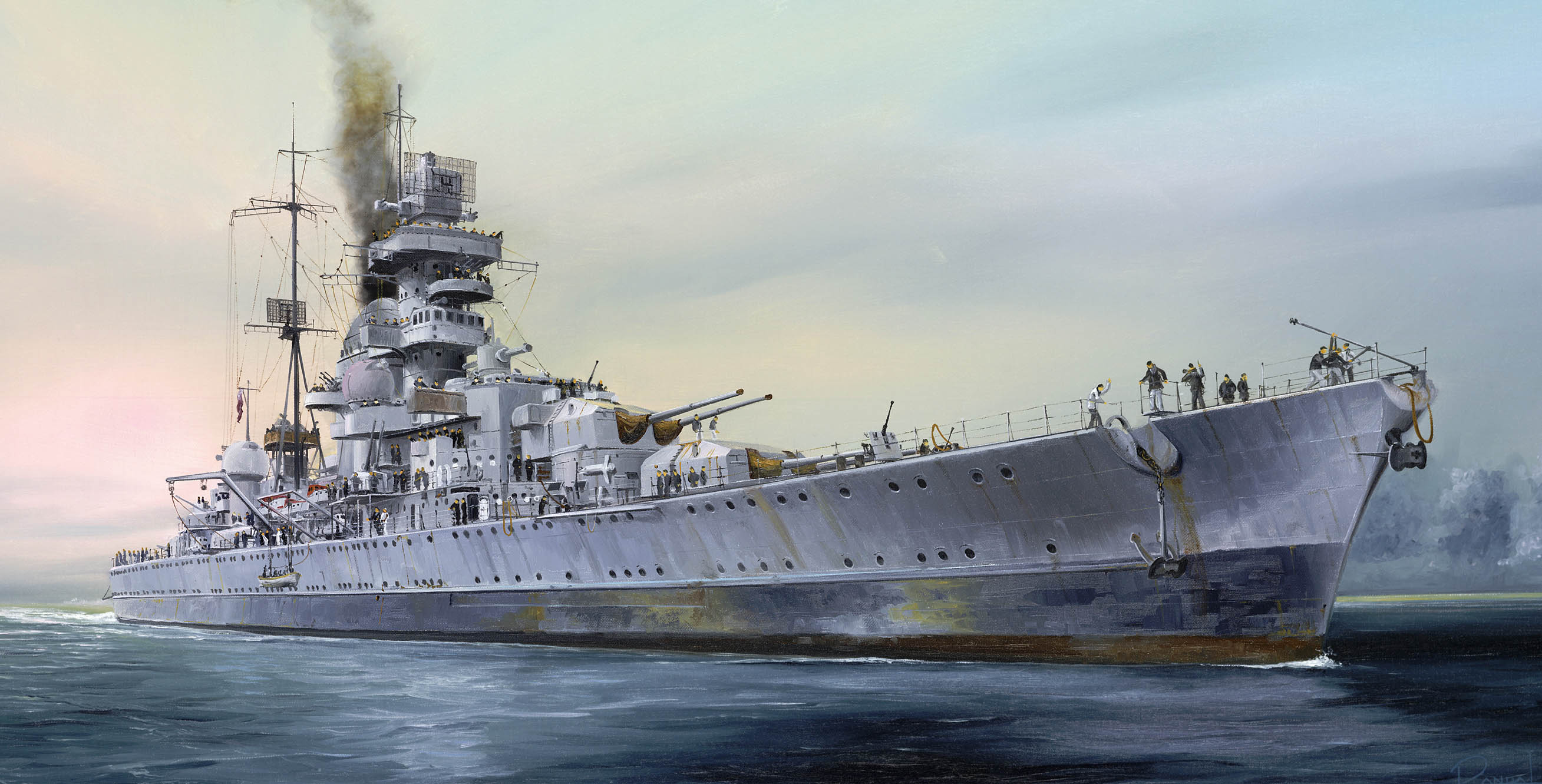 рисунок Prinz Eugen