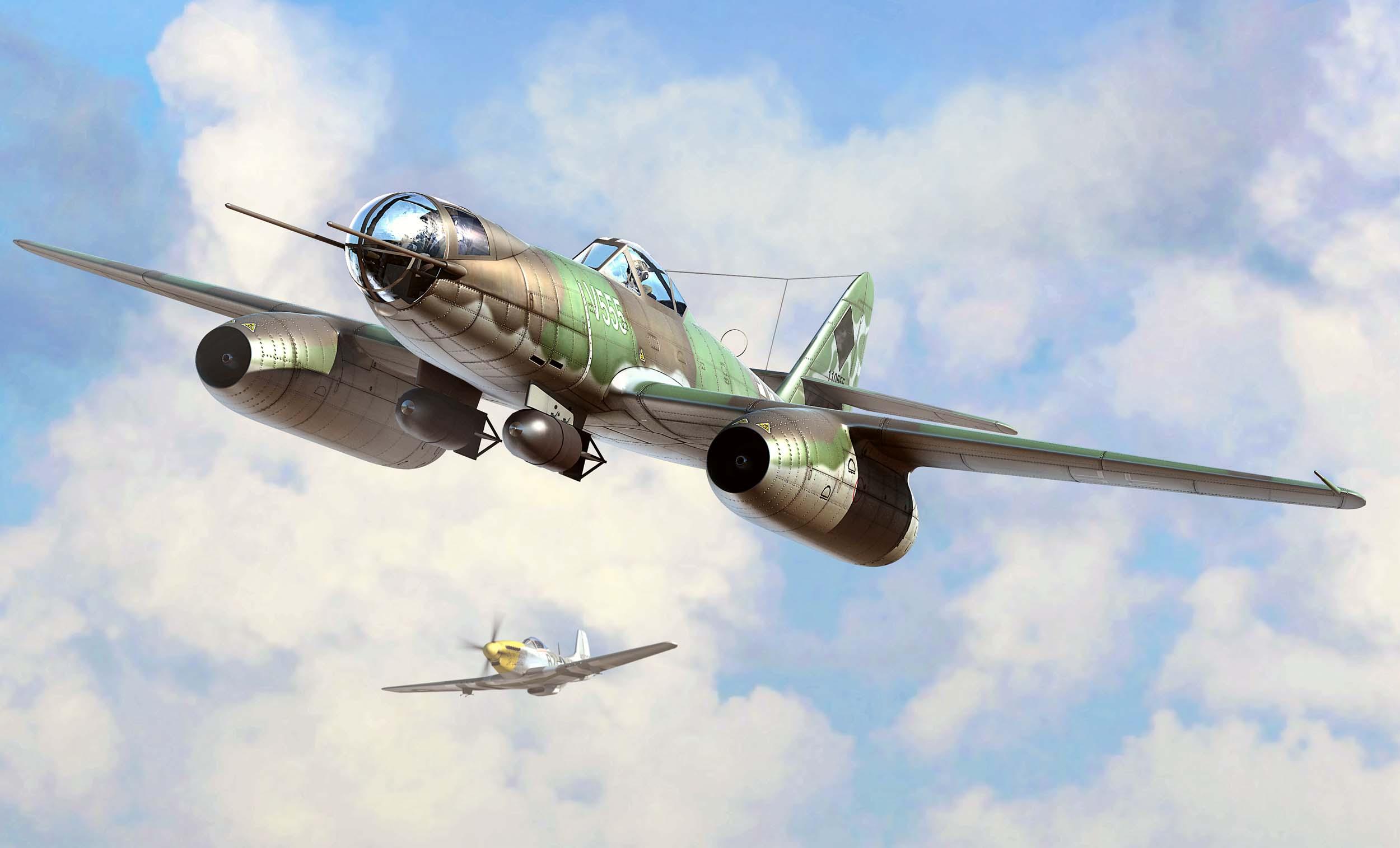рисунок Messerschmitt Me 262 A-2a/U2