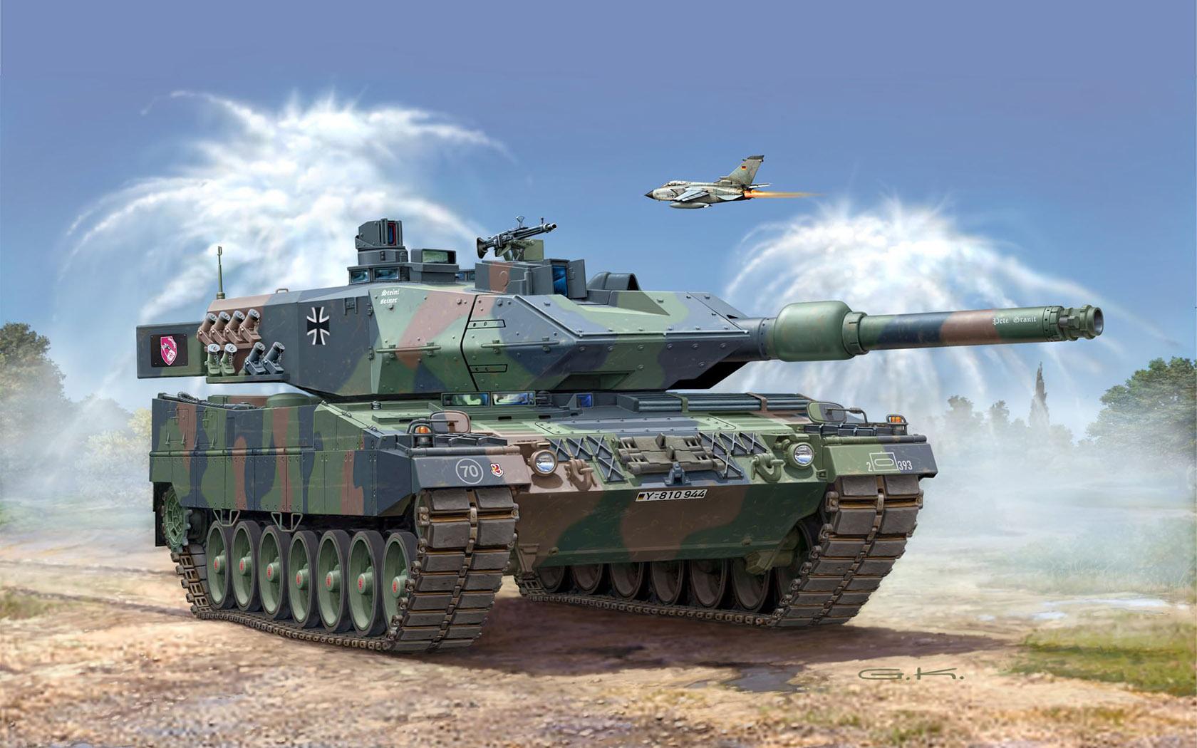 рисунок Leopard 2 A5