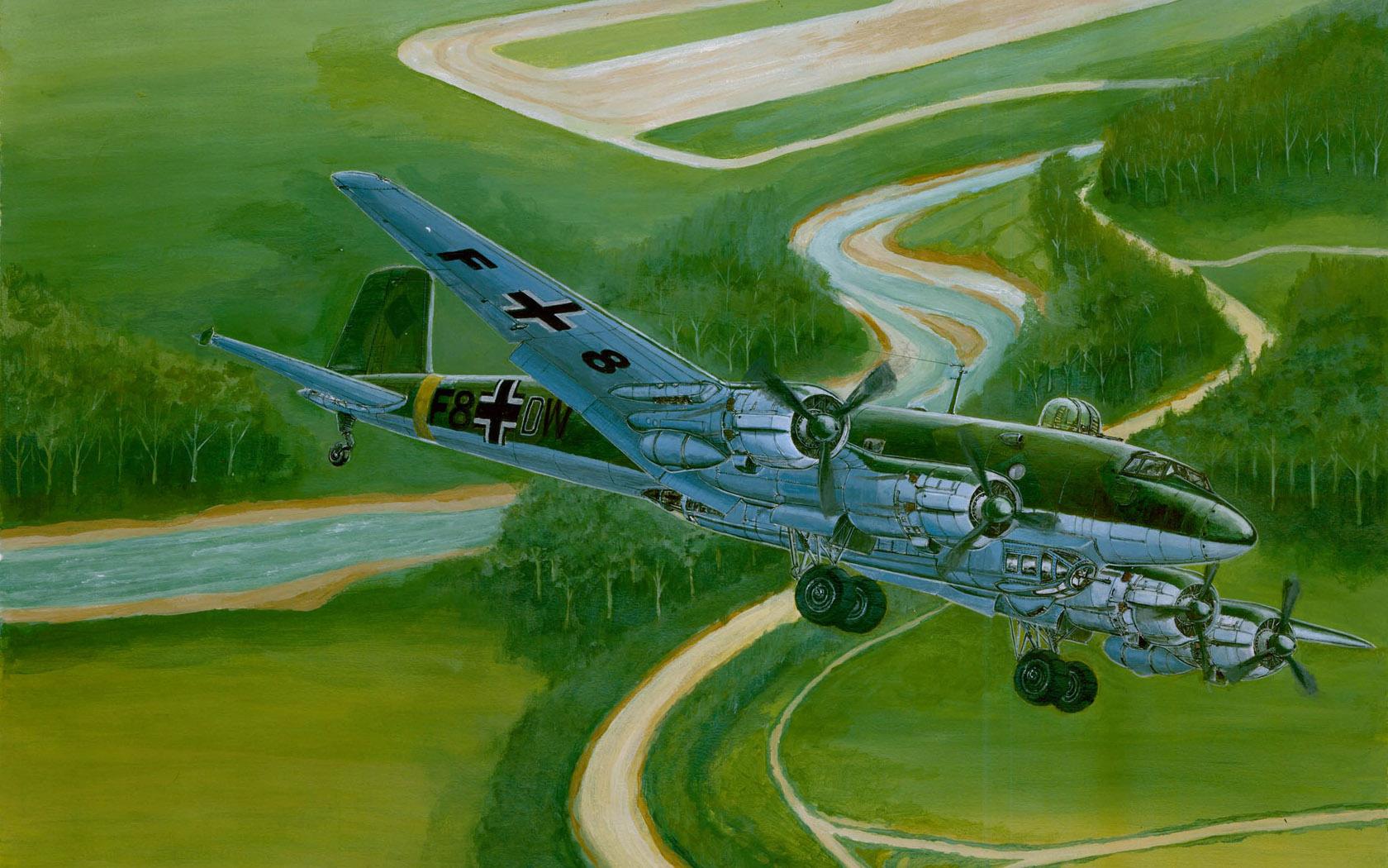 рисунок FW 200 C-4 Condor