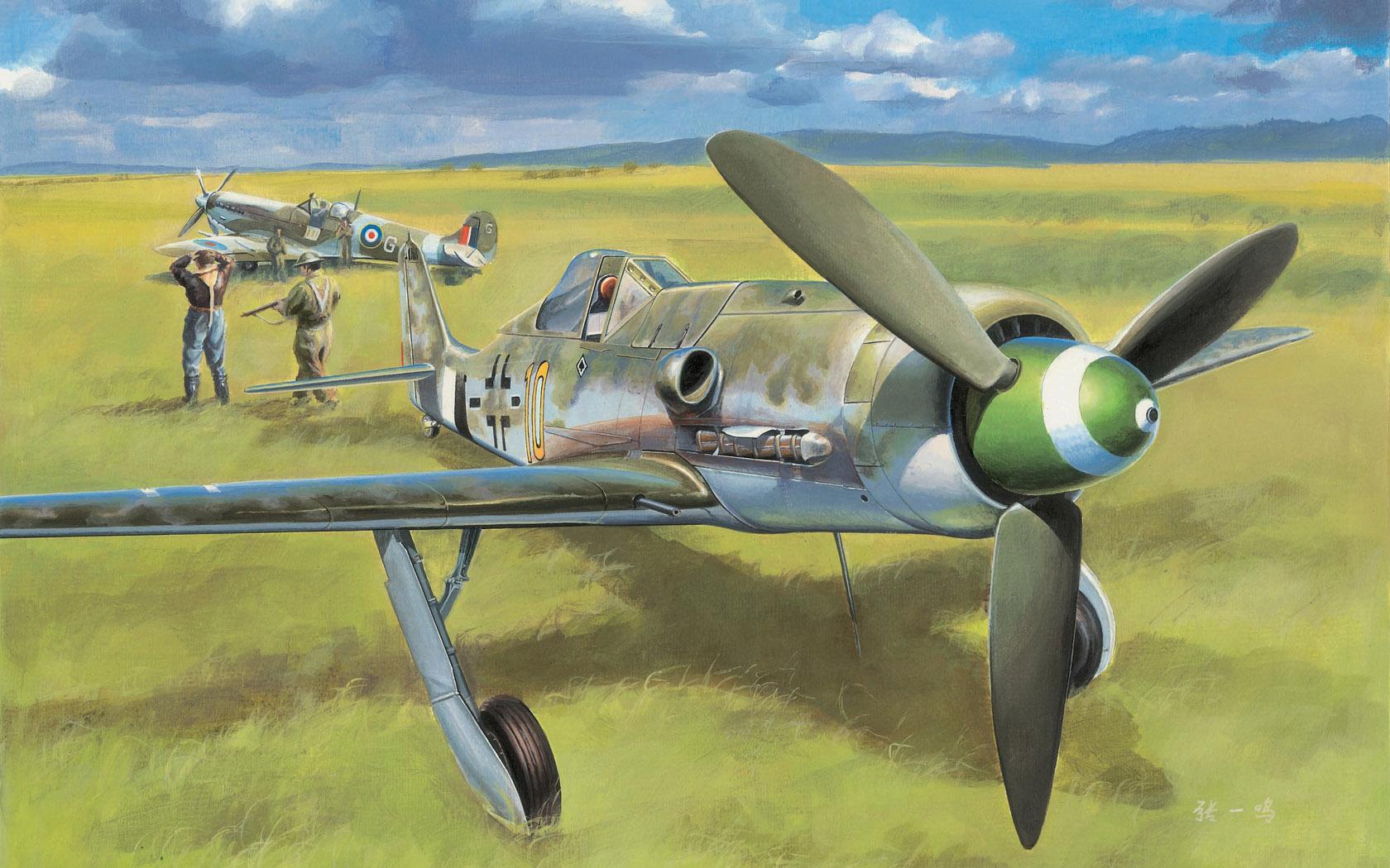 рисунок Focke Wulf FW 190D-13