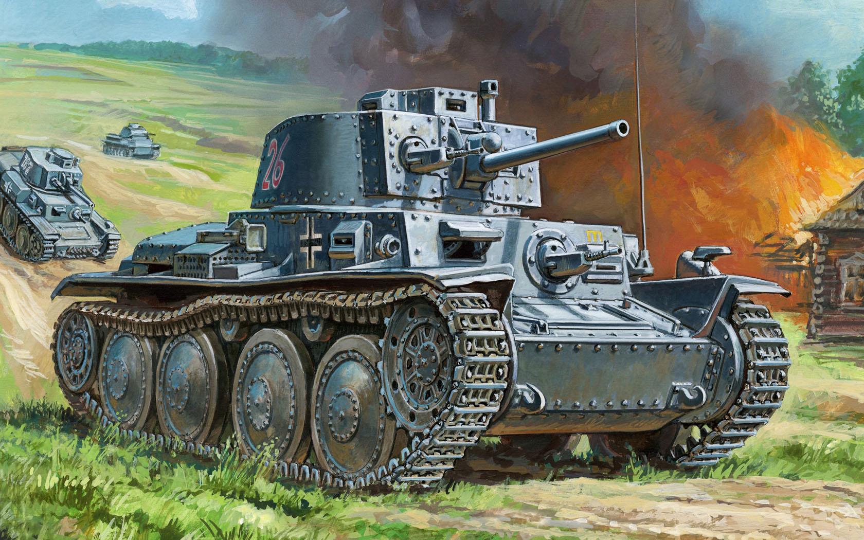рисунок PzKpfw 38(t)