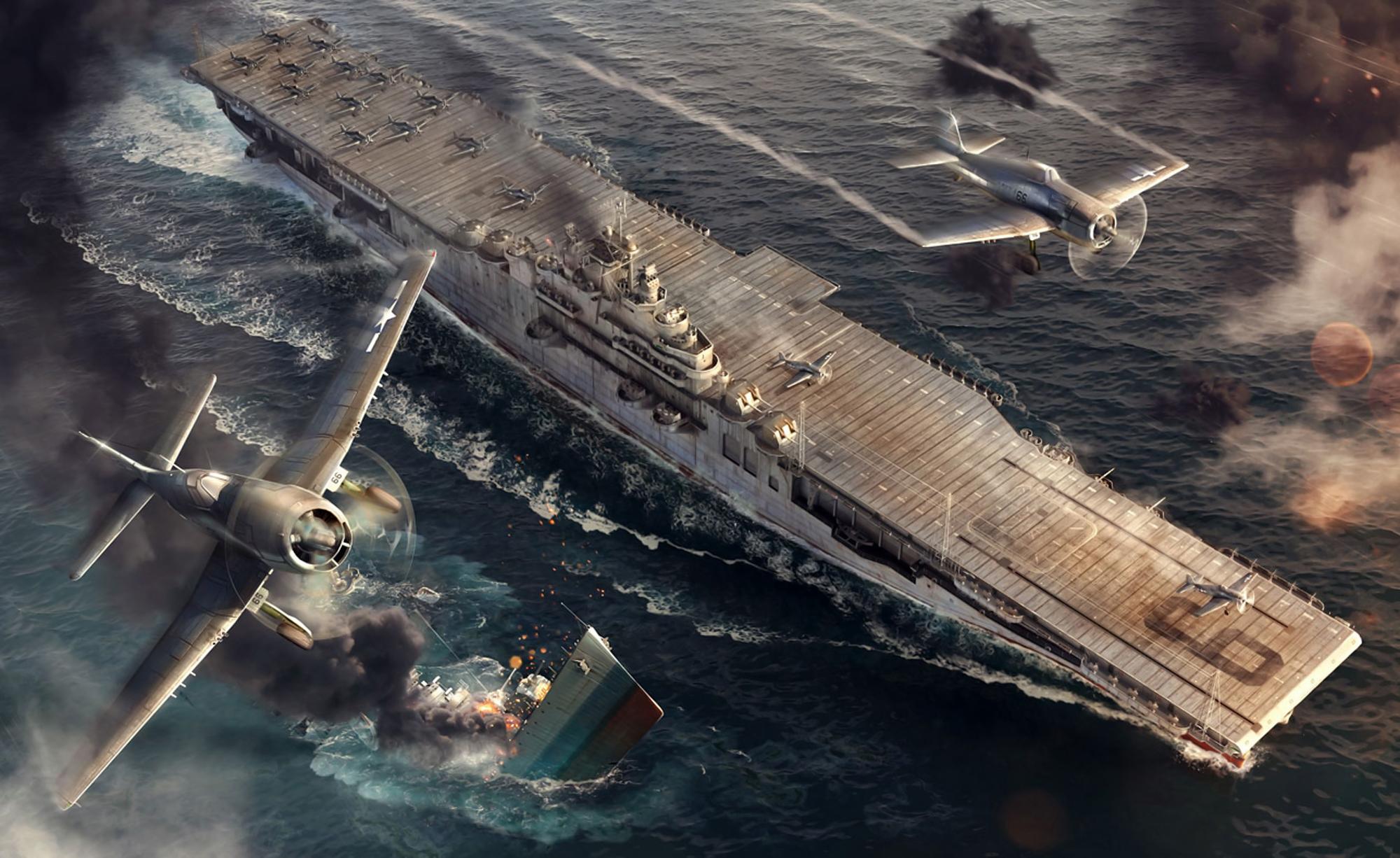 рисунок USS Essex
