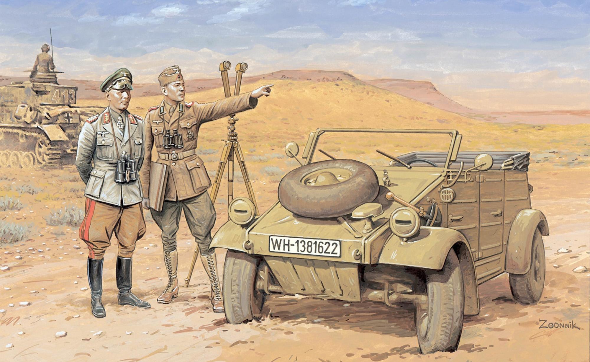 рисунок Лис пустыни