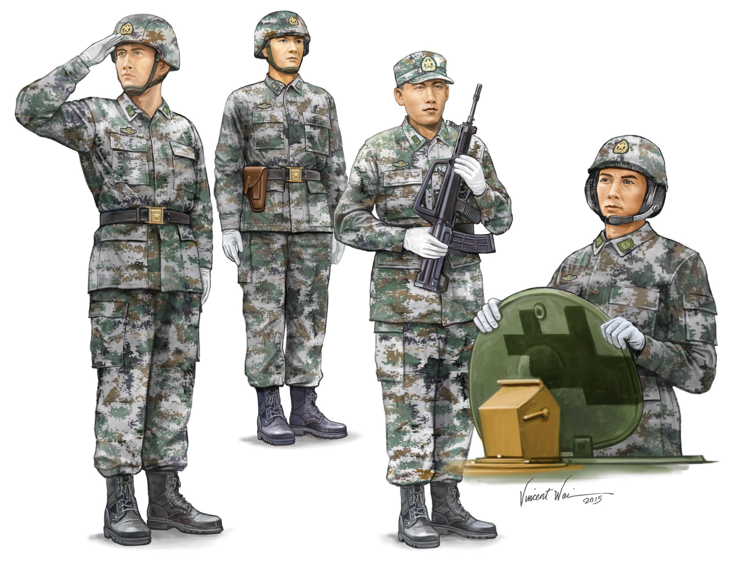 рисунок PLA Tank Crew