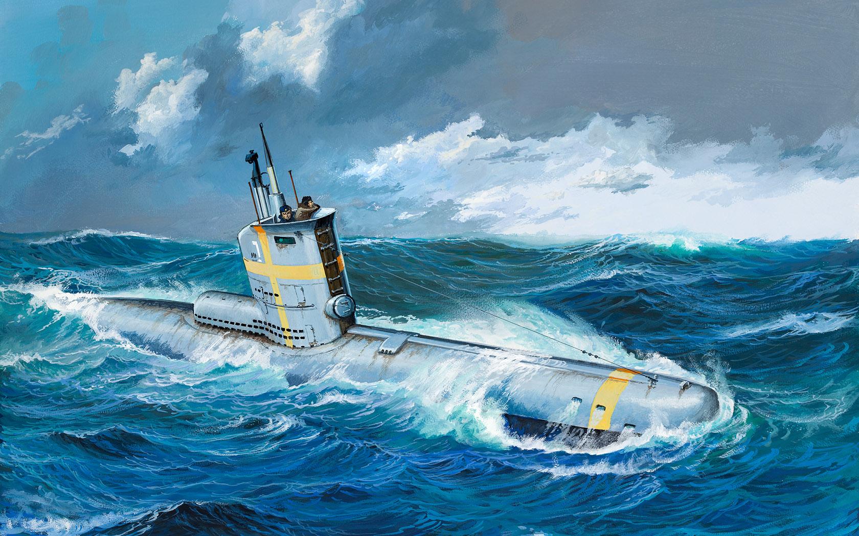 рисунок German Submarine Type XXIII