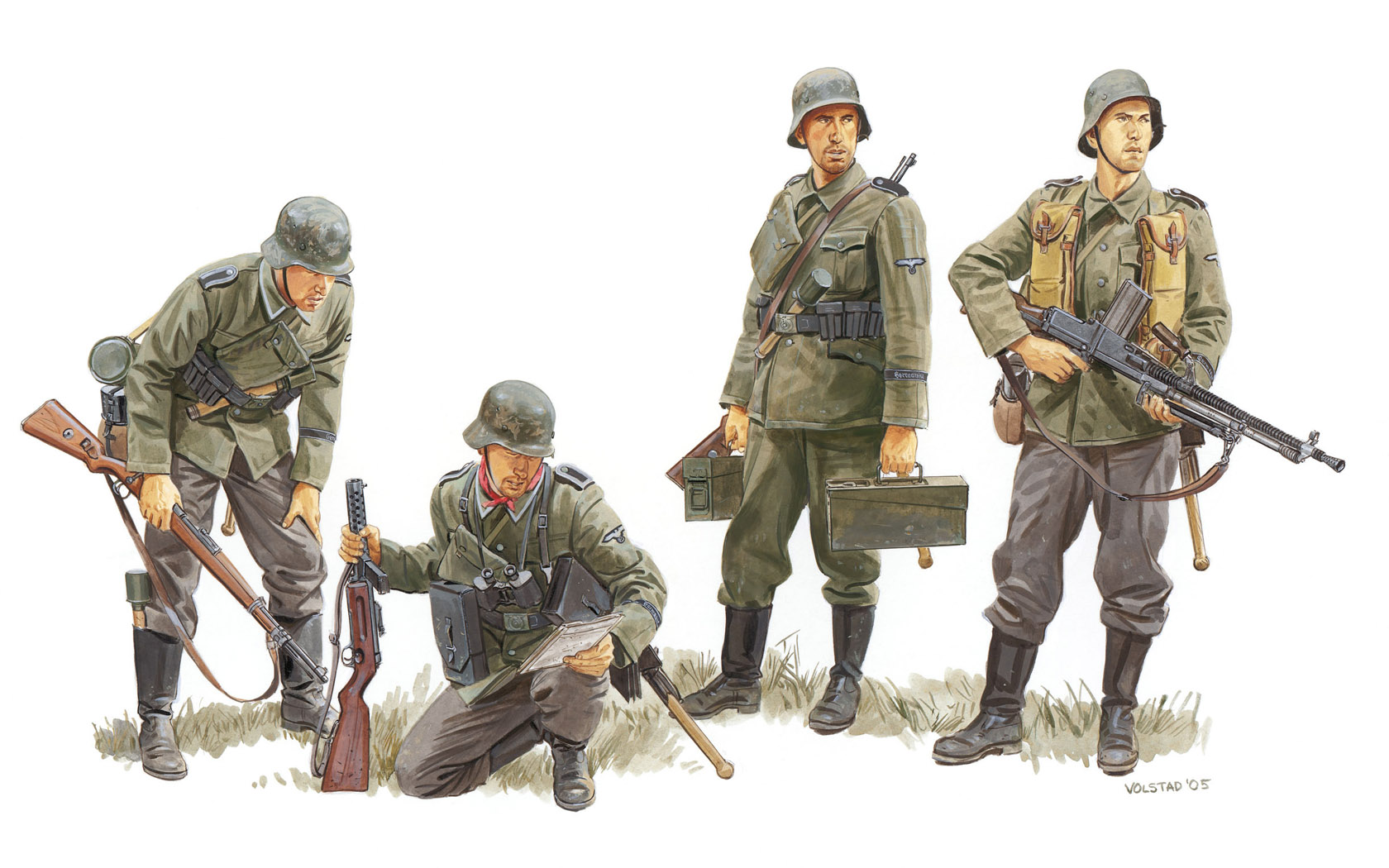 рисунок Germania Regiment, France 1940