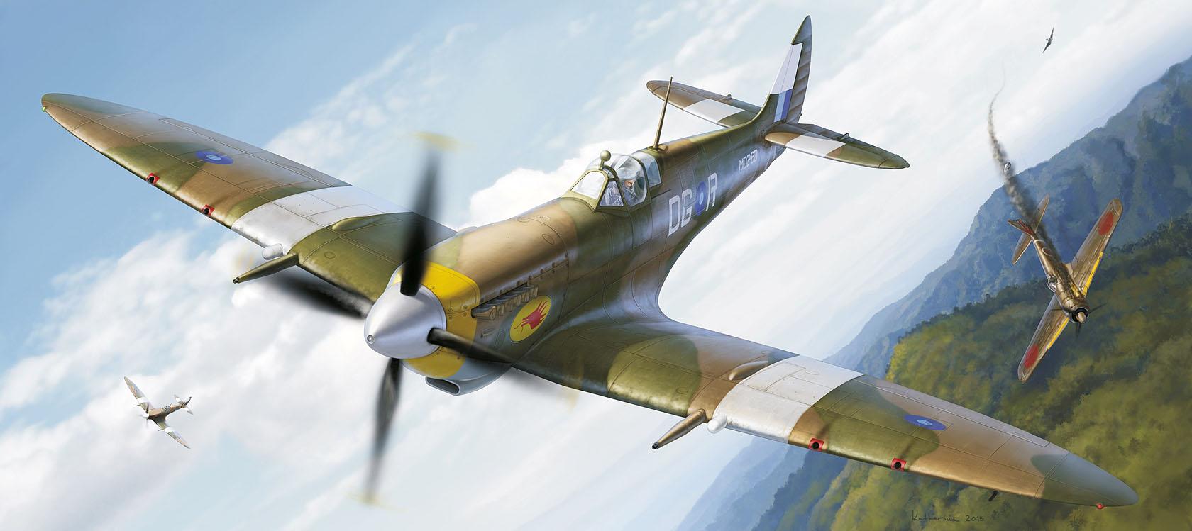 рисунок Spitfire VIII