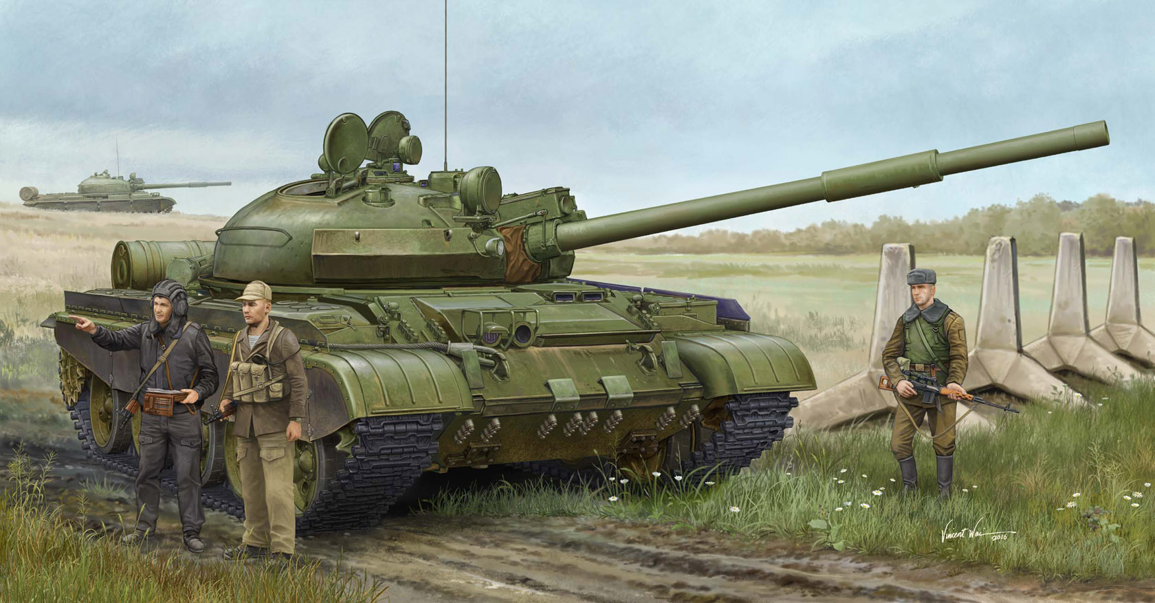 рисунок Russian T-62 BDD Mod.1984