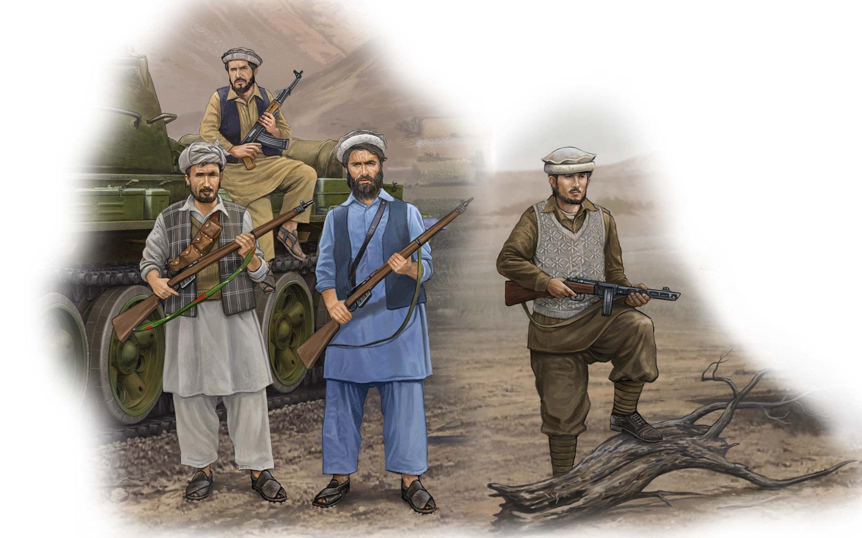 рисунок Afghan Rebels