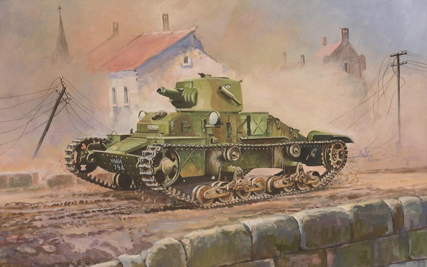 рисунок Matilda Mk I