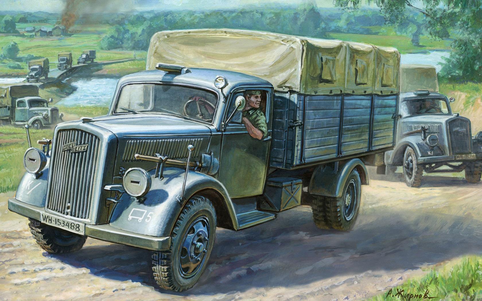 рисунок Opel Blitz