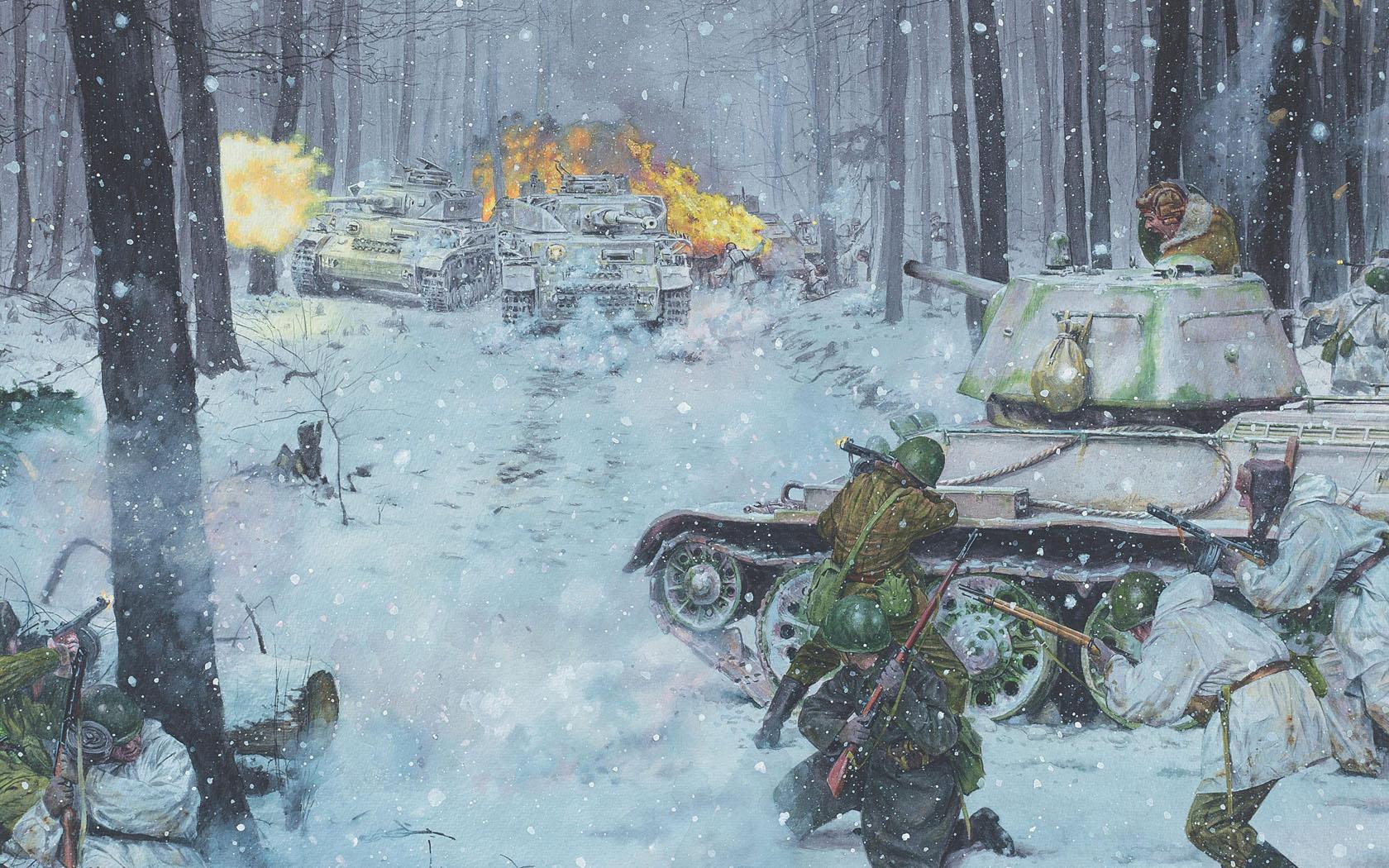 рисунок Днепровско-Карпатская операция