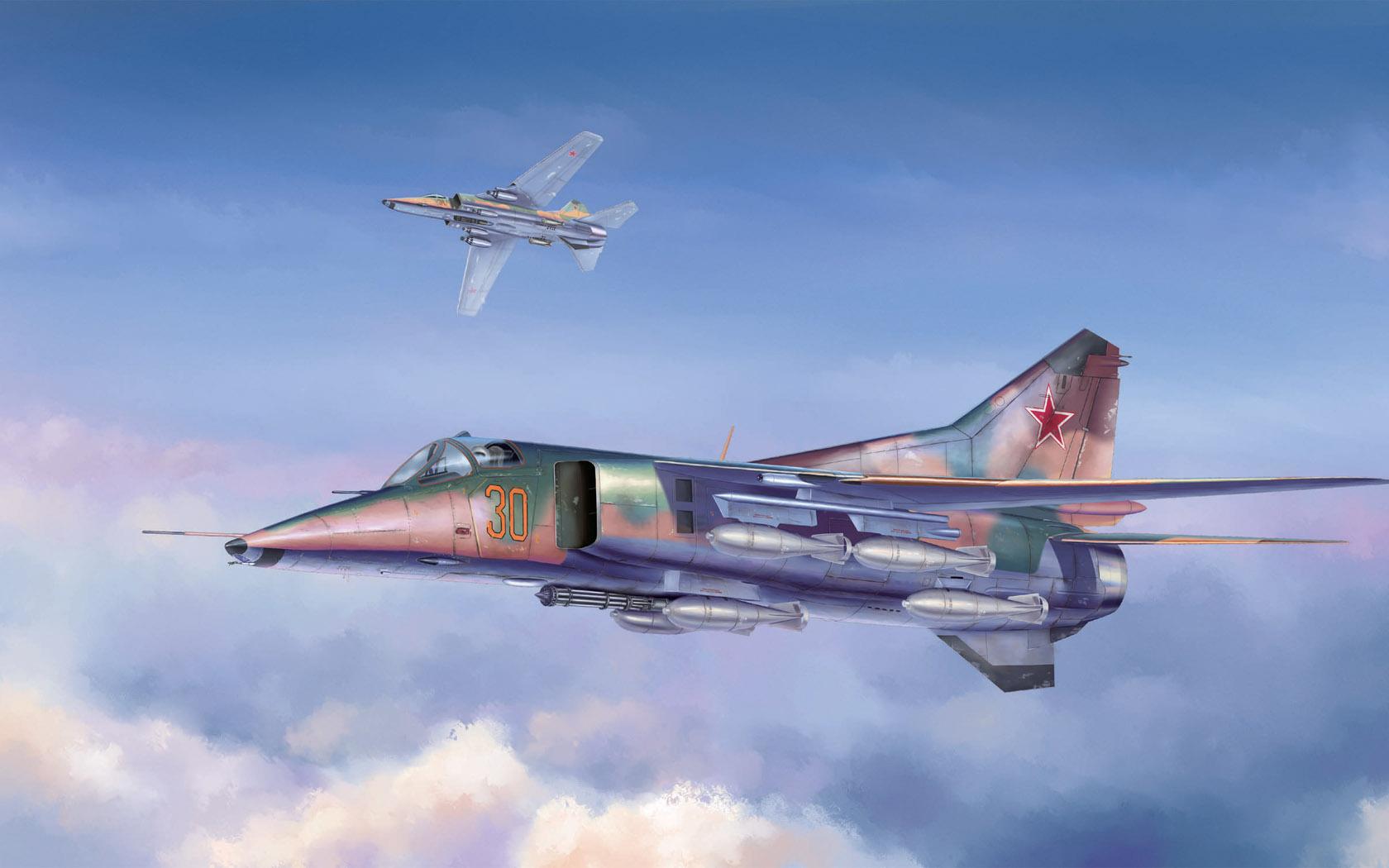 рисунок MIG-27 Flogger D