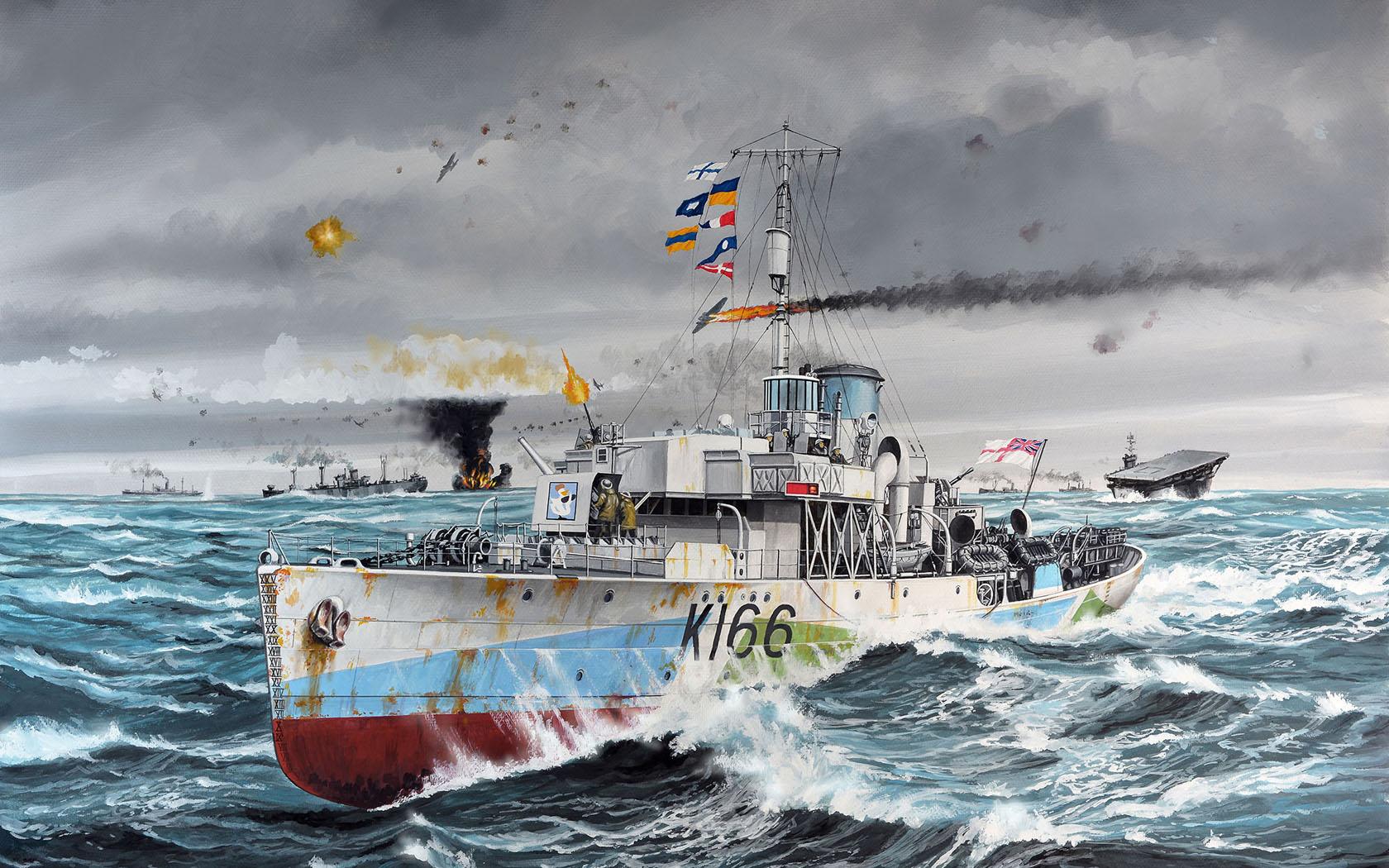 рисунок HMCS Snowberry