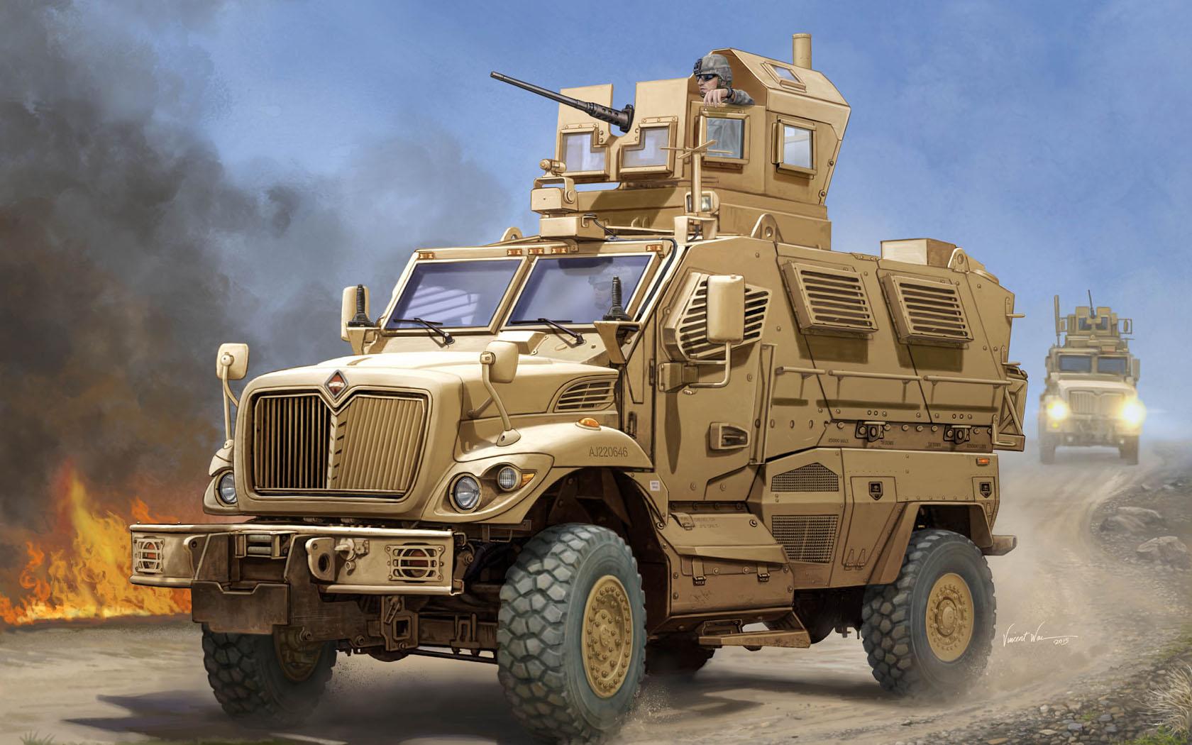 рисунок US MaxxPro MRAP