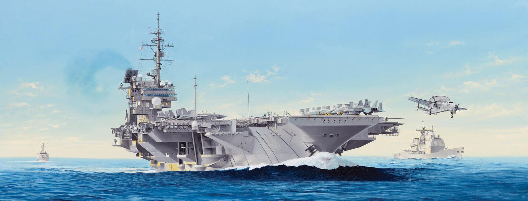 рисунок USS ConstellationCV64