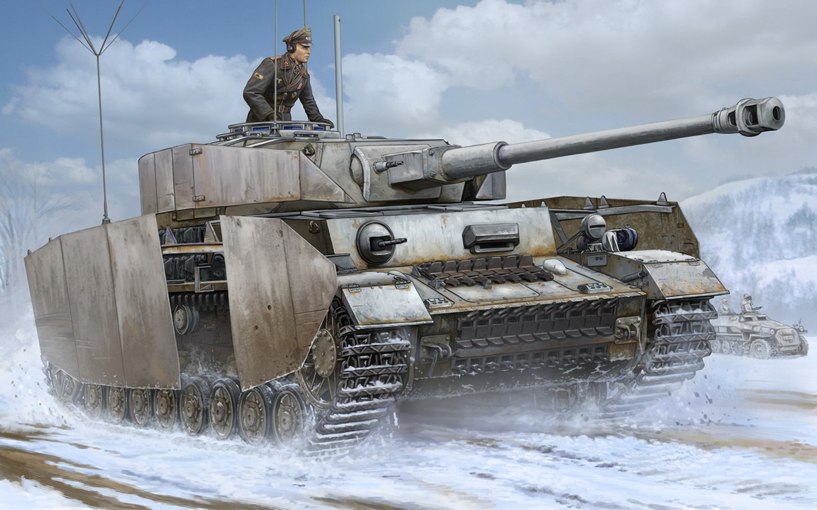 рисунок Pz.Beob.Wg. IV Ausf.J