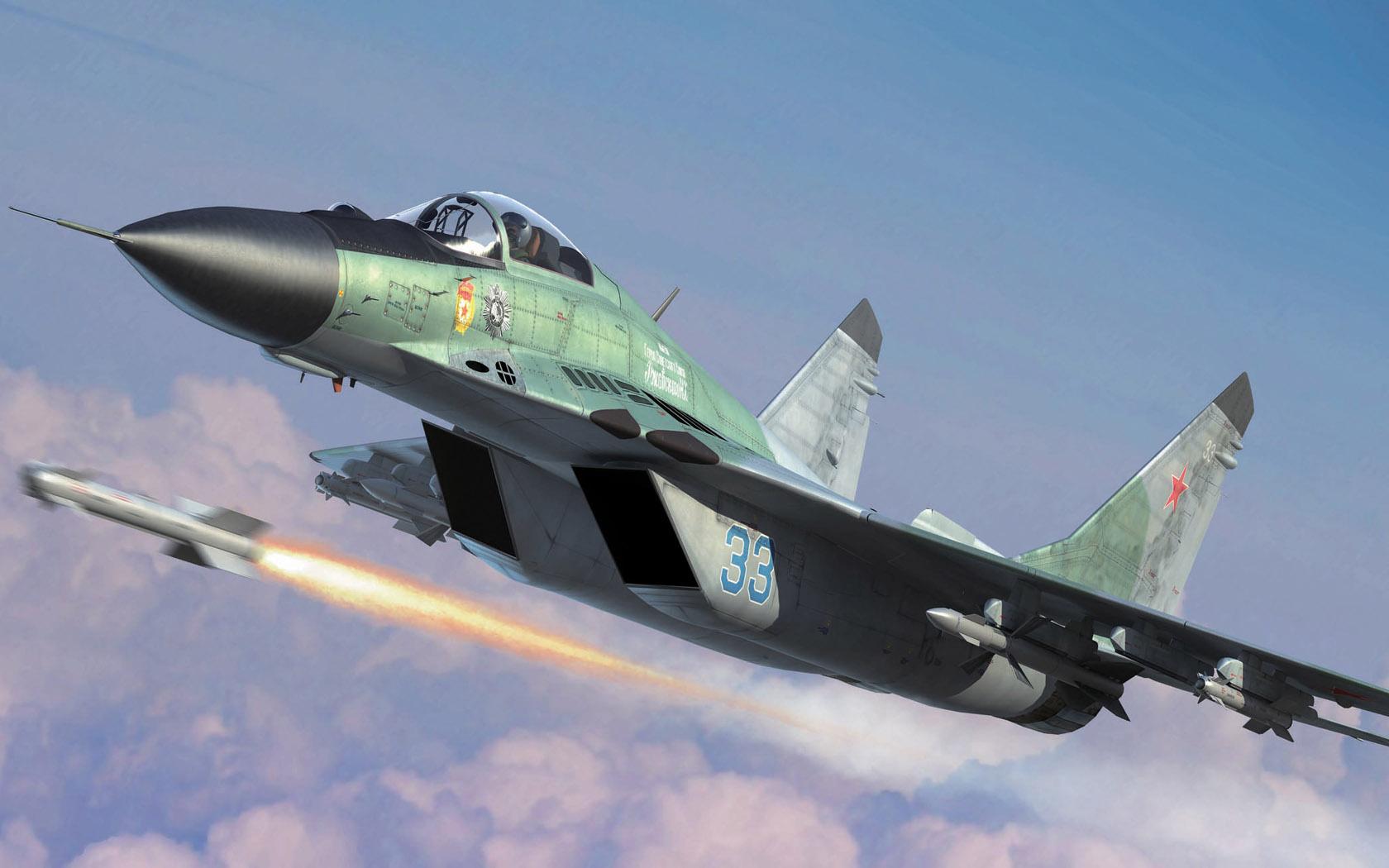 рисунок Mig-29S 9.13 Fulcrum-C