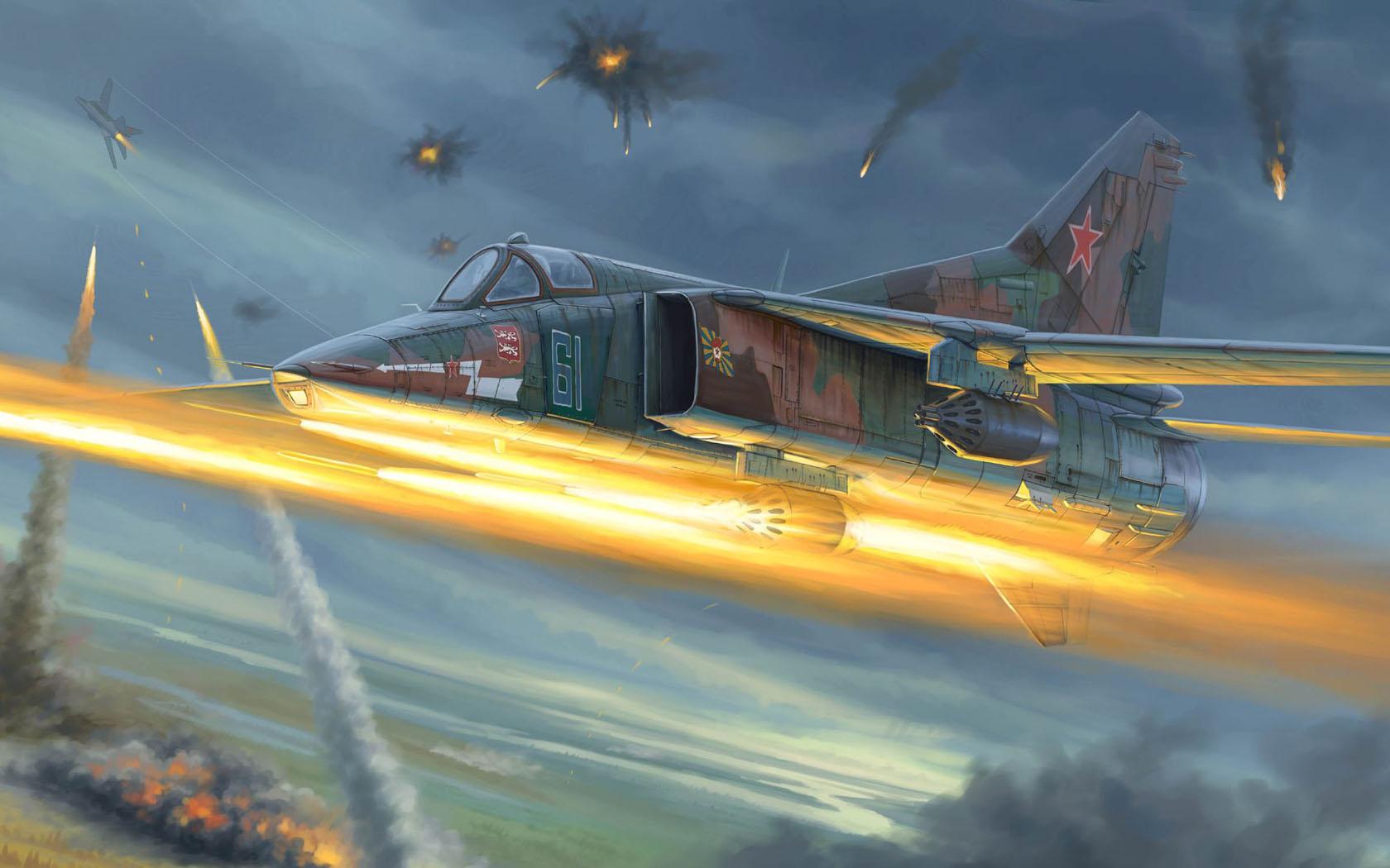 рисунок МиГ-27Д
