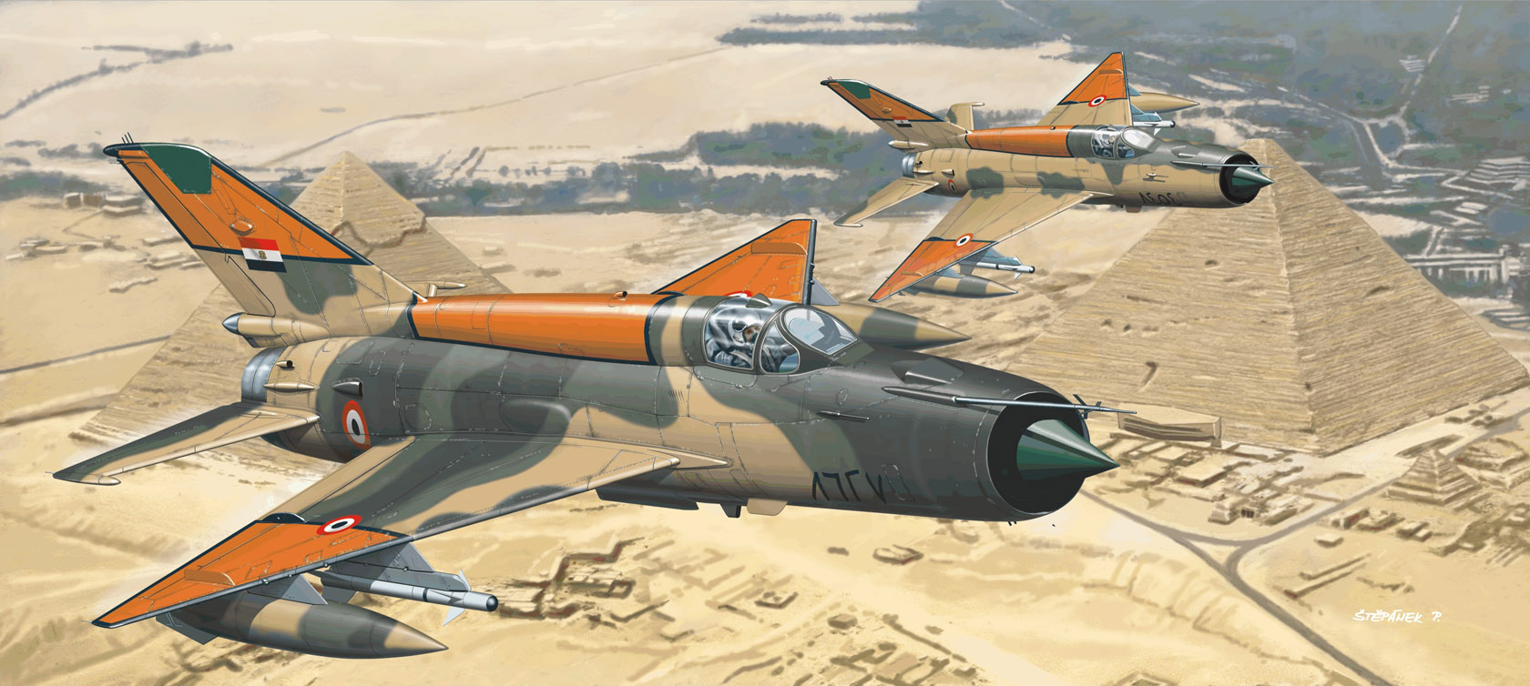 рисунок MiG-21MF
