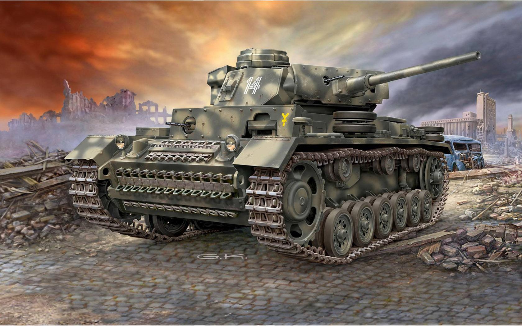рисунок Pz.Kpfw. III Ausf. L.