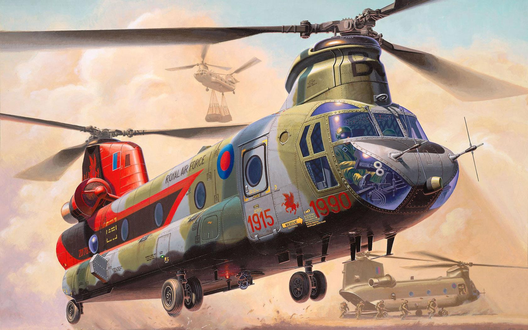 рисунок Chinook HC.Mk.1