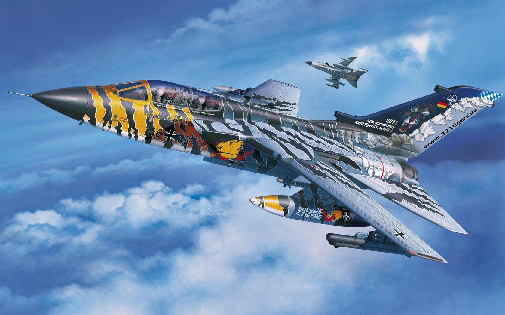 рисунок Tornado Lechfeld Tiger 2011