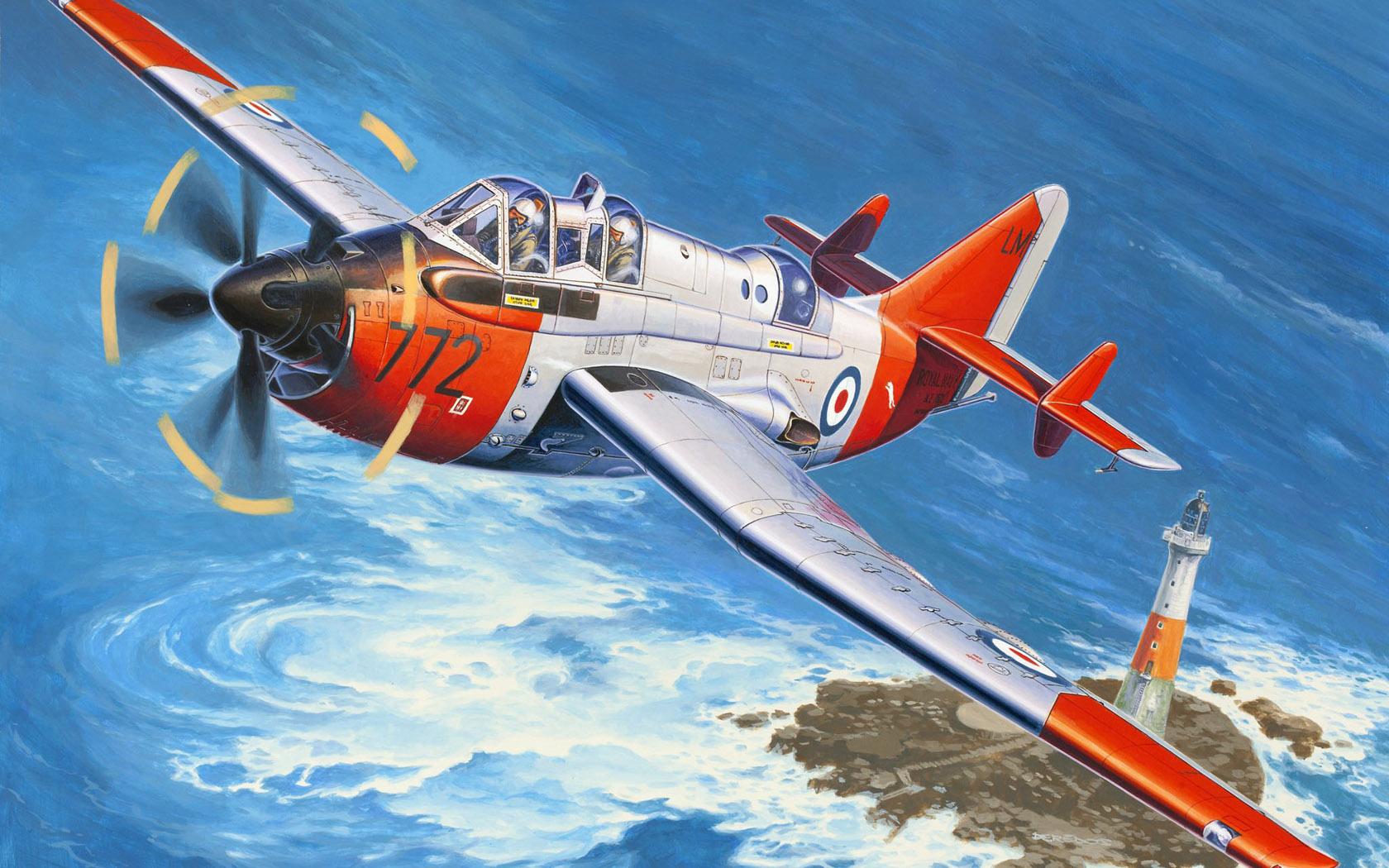 рисунок Fairey Gannet P.5